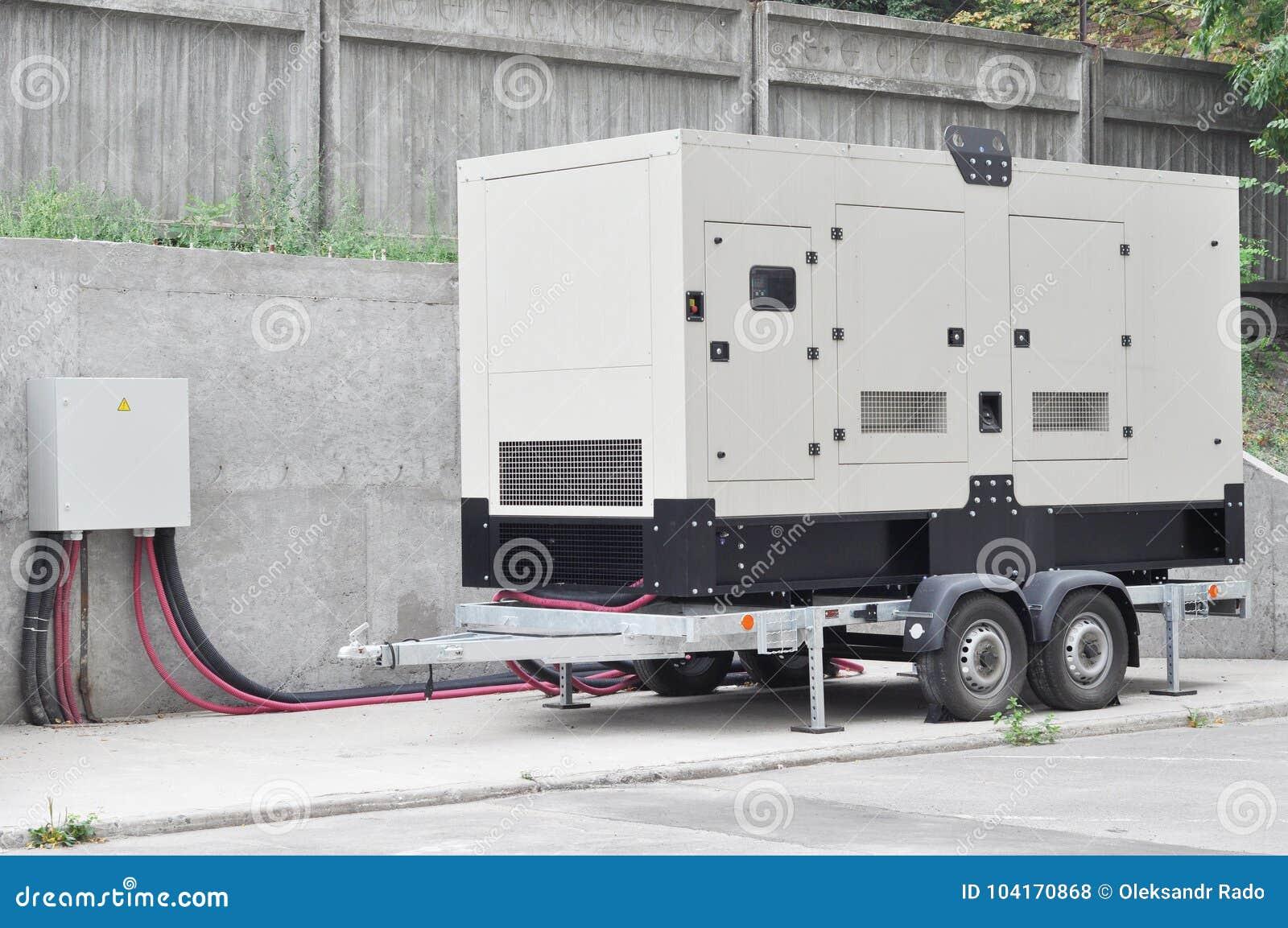 Βιομηχανική γεννήτρια diesel Εφεδρική γεννήτρια Βιομηχανική γεννήτρια diesel για το κτίριο γραφείων που συνδέεται με το πίνακα ελ