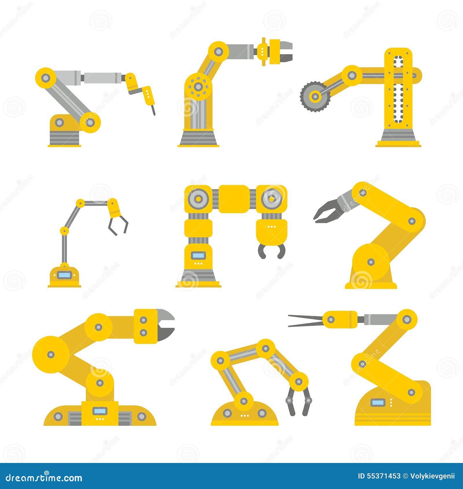 Βιομηχανικός βραχίονας ρομπότ