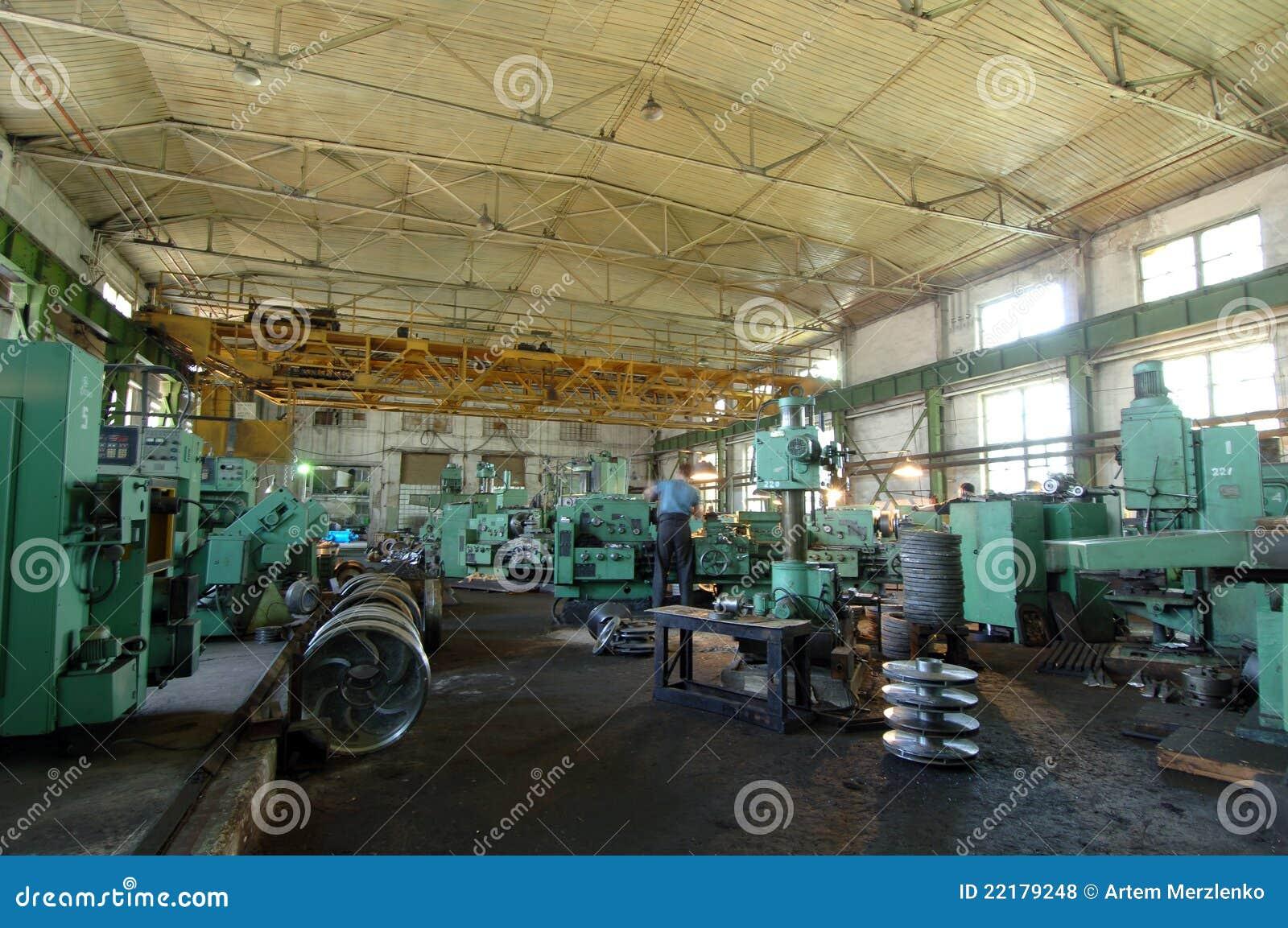 βιομηχανικό διάστημα