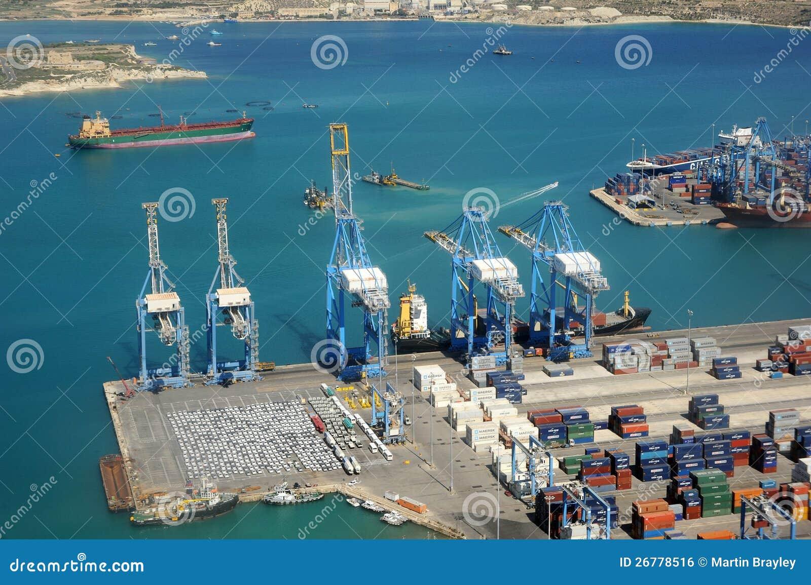 Βιομηχανικό λιμάνι της Μάλτας