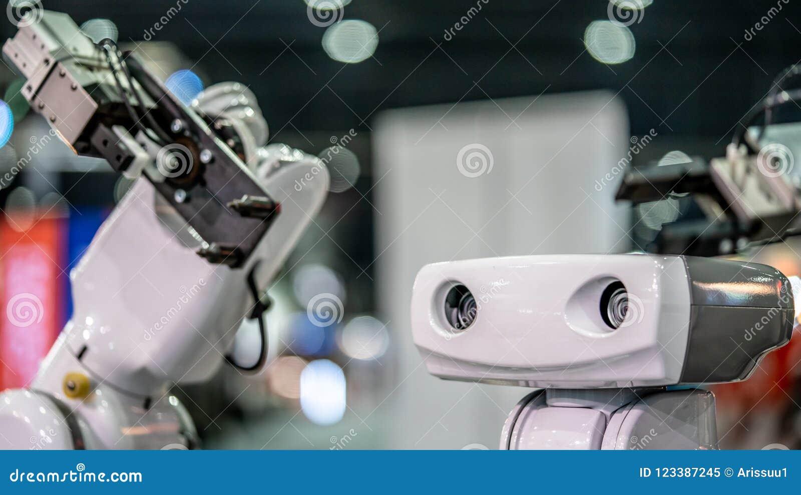 Βιομηχανικό χέρι βραχιόνων ρομπότ μηχανικό