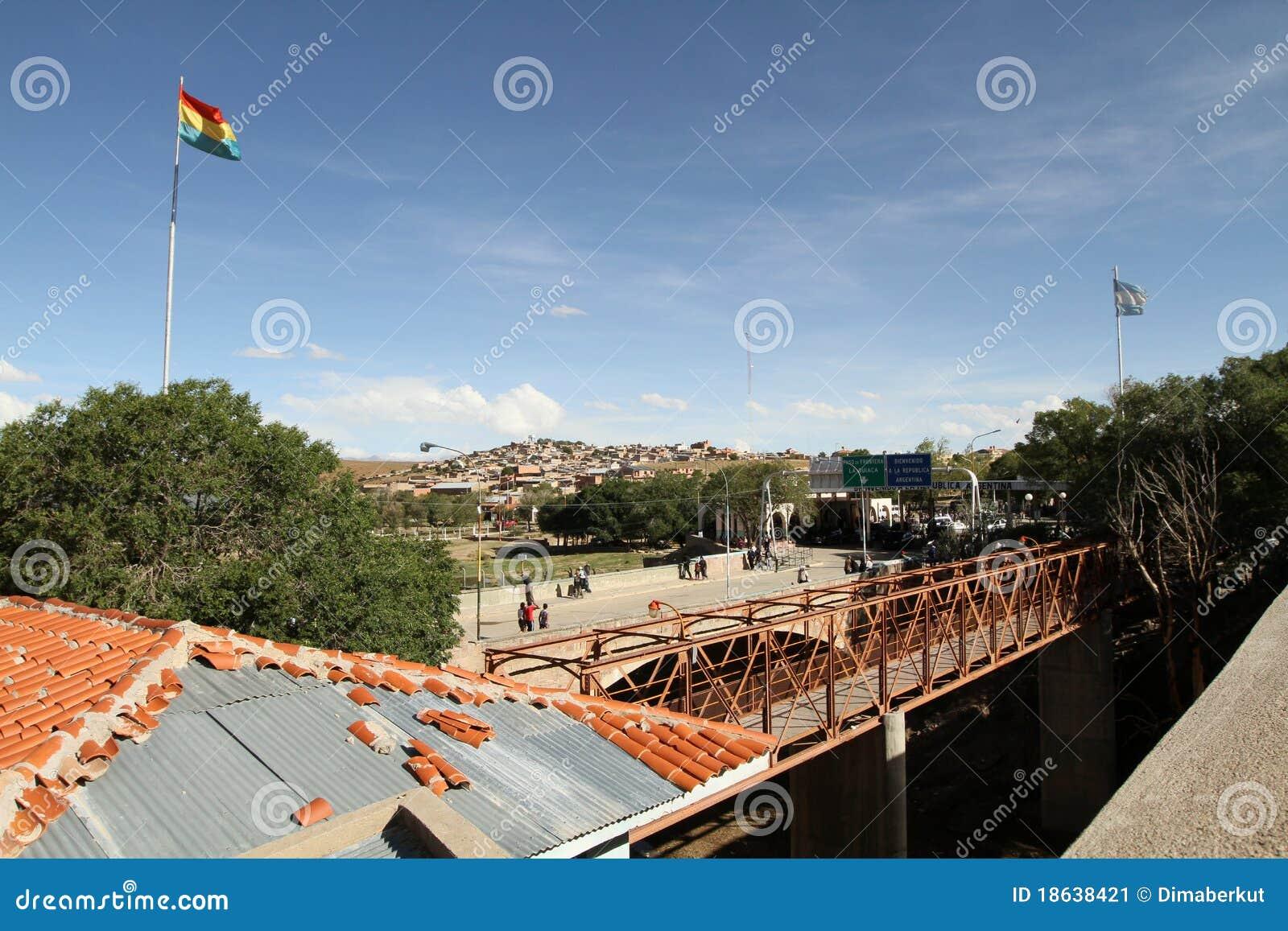 βολιβιανά σύνορα της Αργ&eps