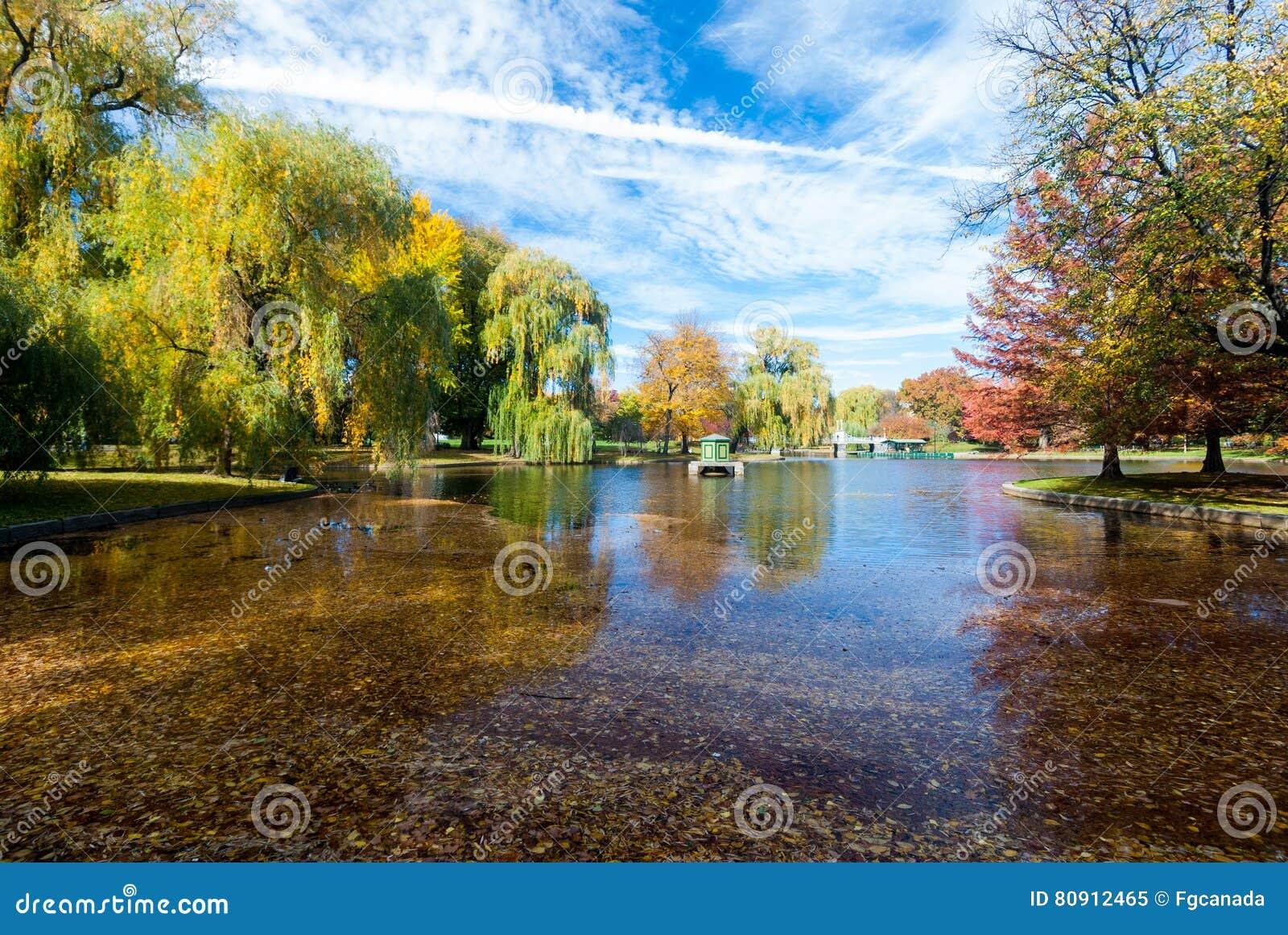 Βοστώνη κοινή το φθινόπωρο