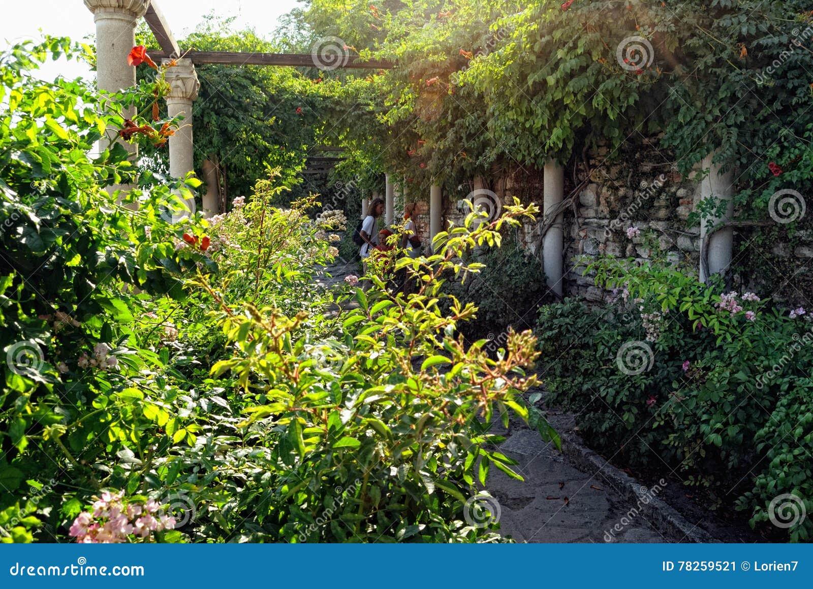Βοτανικός κήπος σε Balchik, Βουλγαρία