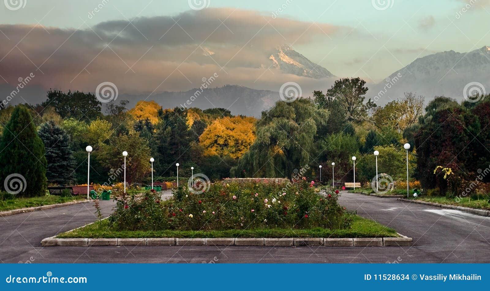βοτανικό πάρκο πόλεων της Alma