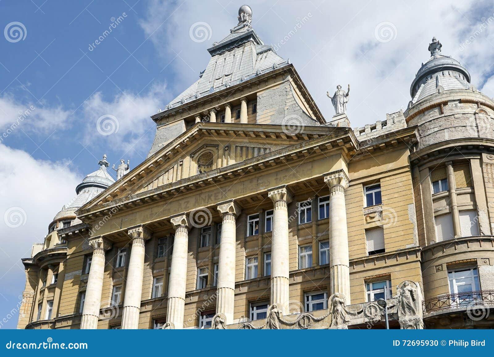 ΒΟΥΔΑΠΕΣΤΗ, HUNGARY/EUROPE - 21 ΣΕΠΤΕΜΒΡΊΟΥ: Anker House σε Budapes