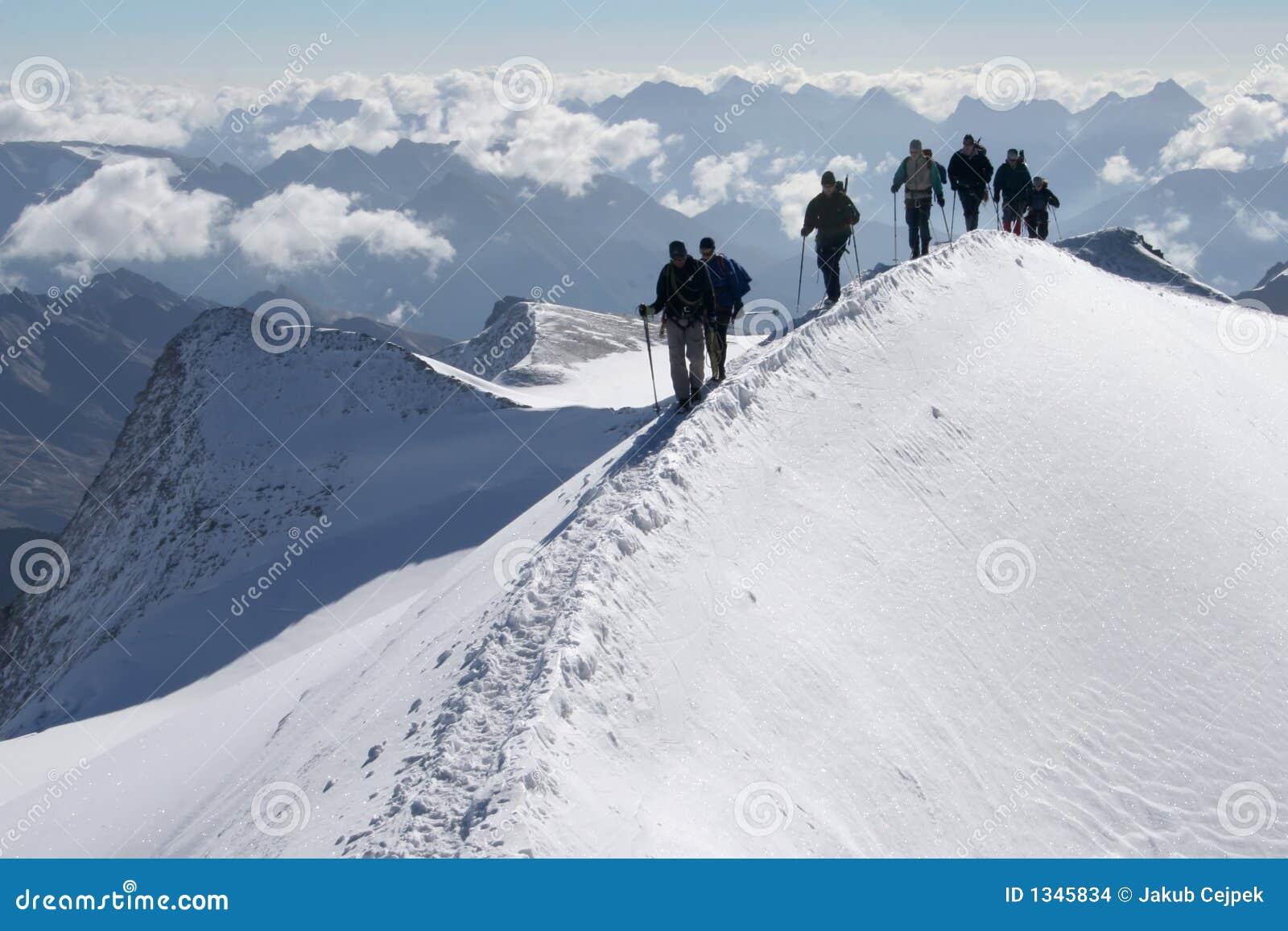 βουνά ορειβατών