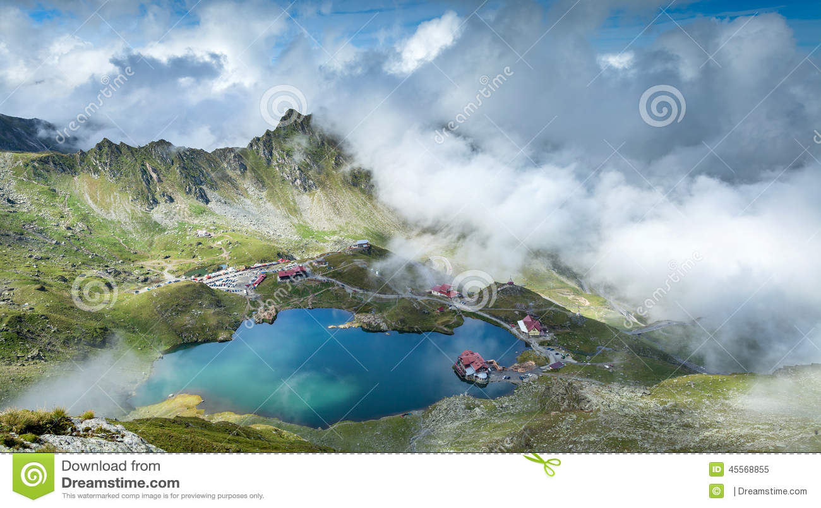 βουνά Ρουμανία fagaras Περιοχή της Τρανσυλβανίας