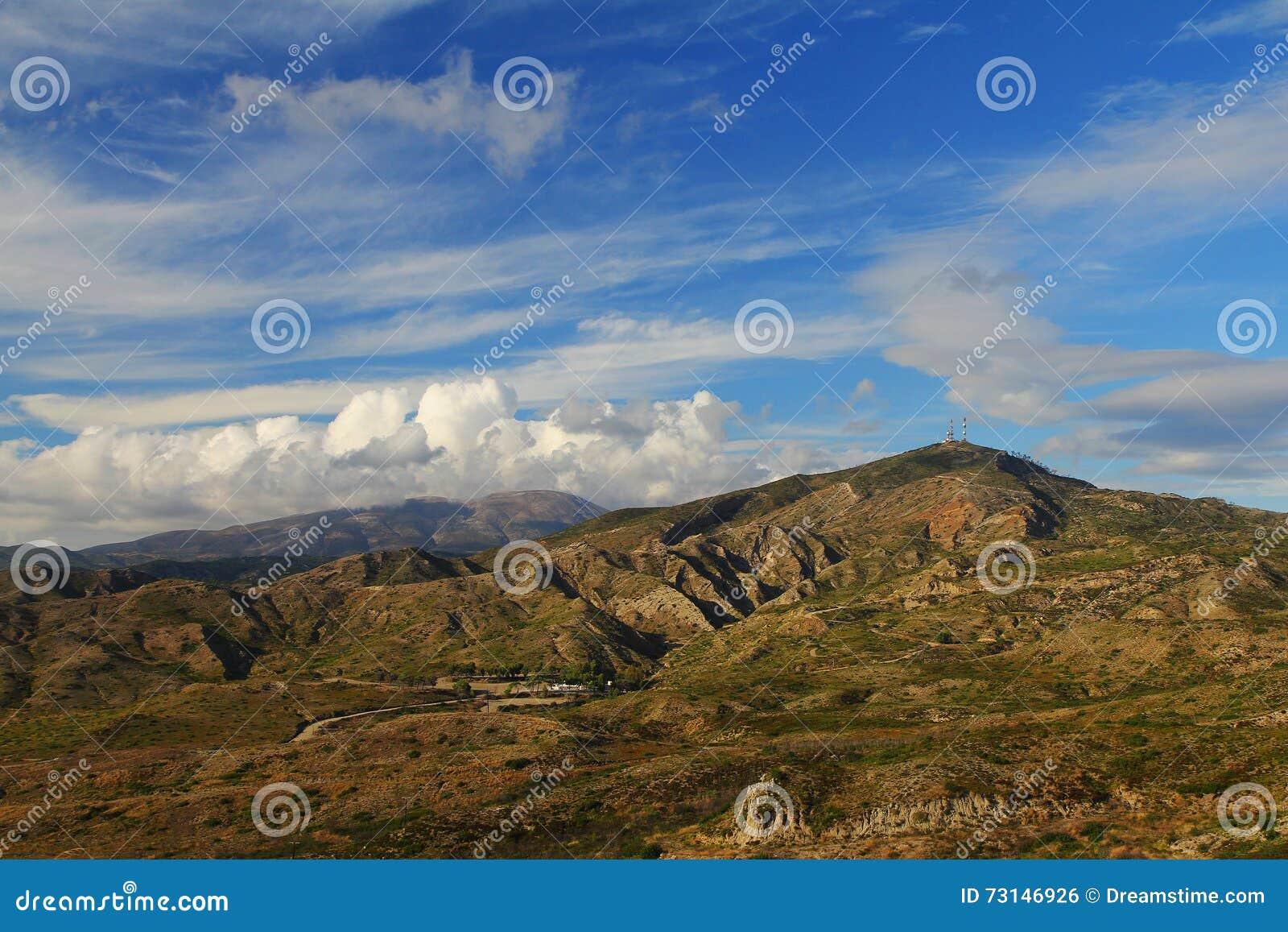 Βουνά στη Ρόδο (Ελλάδα)