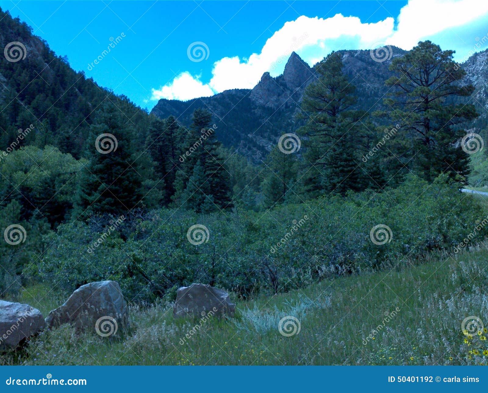 βουνά του Κολοράντο δύσ&ka