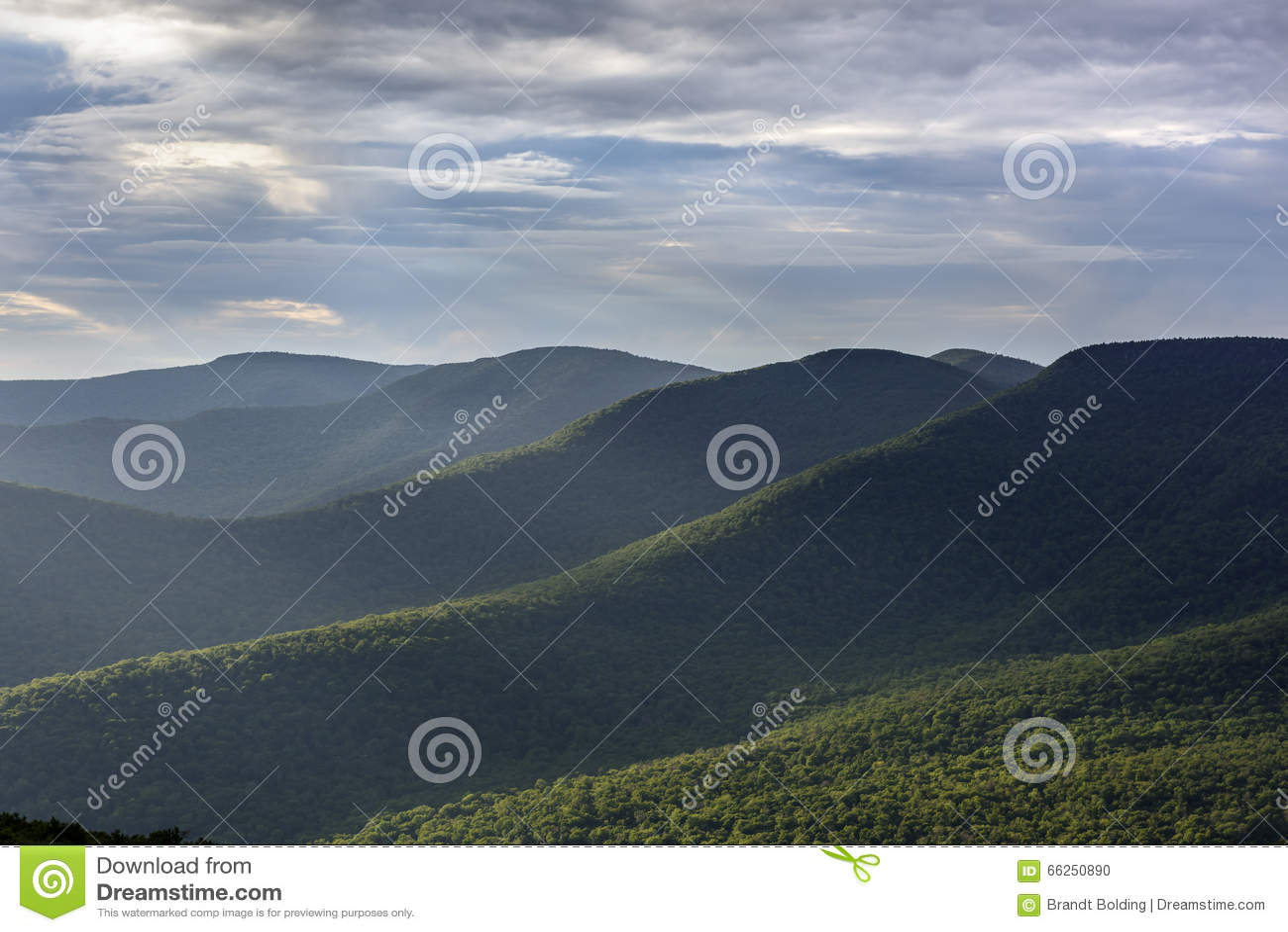 Βουνά Catskill το καλοκαίρι