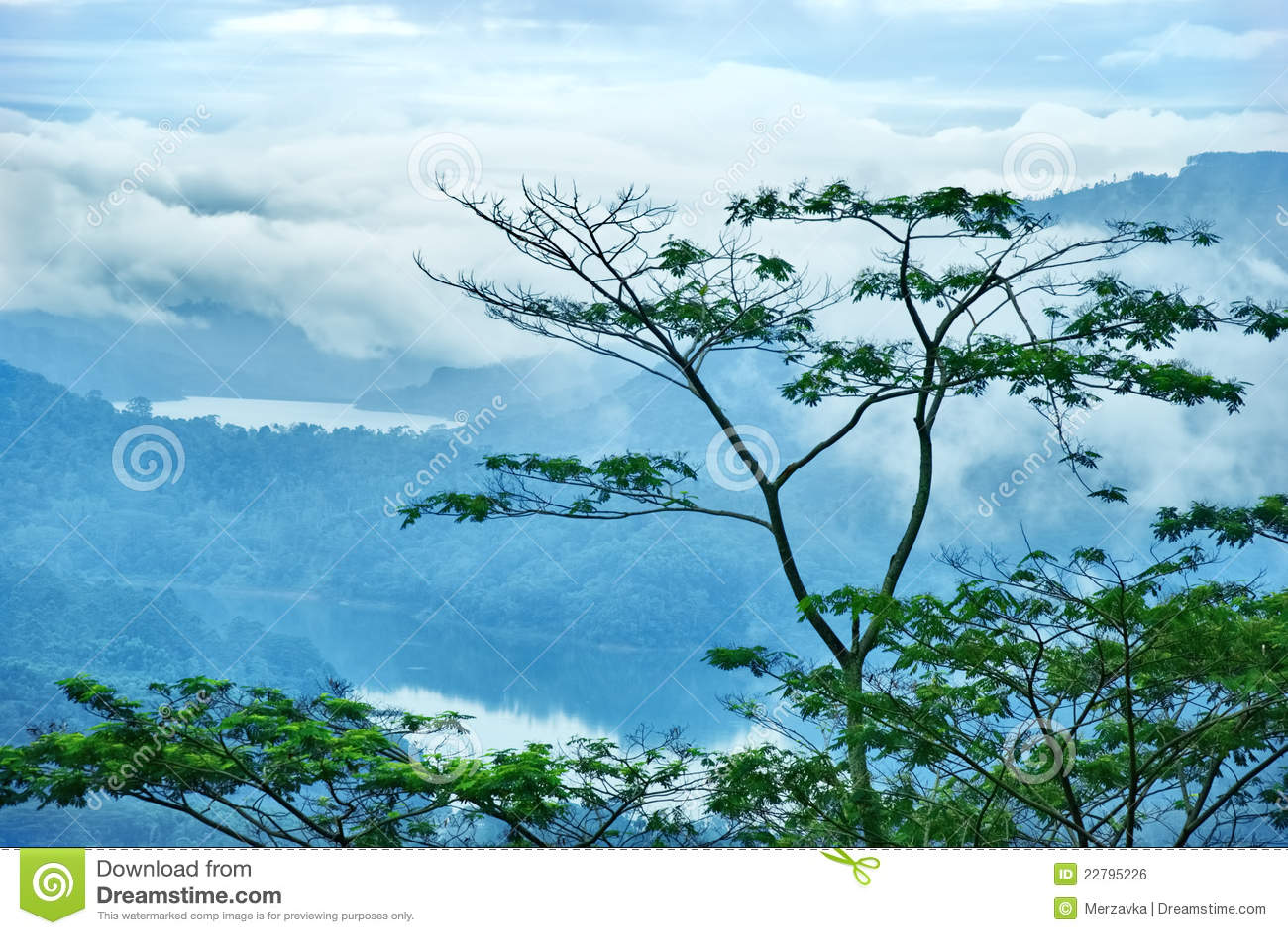 βουνό λιμνών της Κεϋλάνης