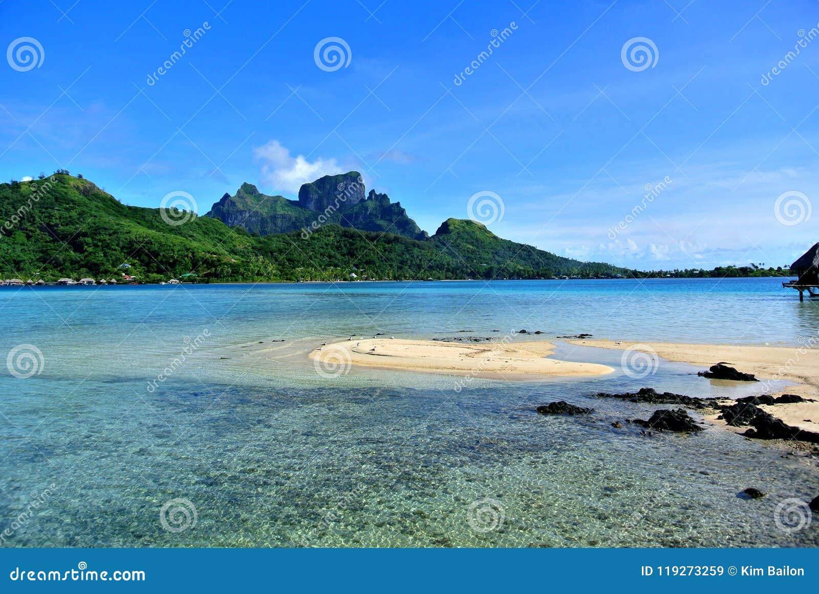 Βουνό νησιών Bora Bora