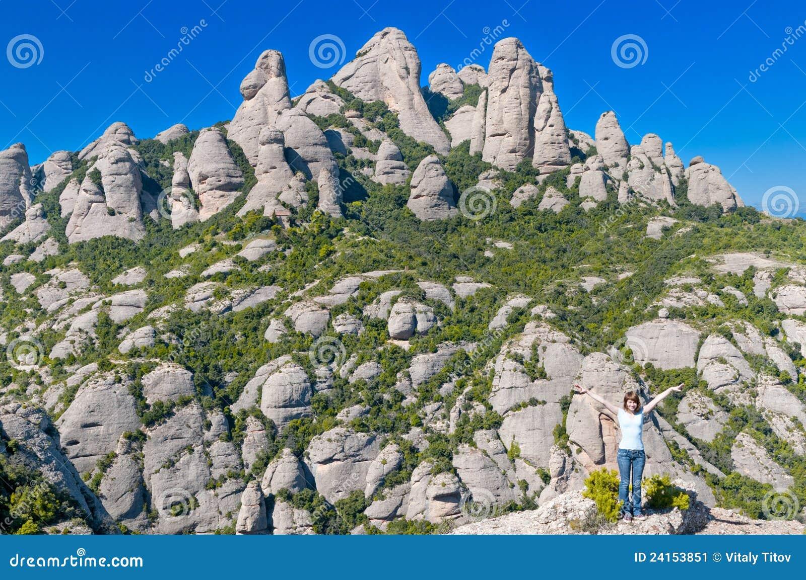 βουνό του Μοντσερράτ κοριτσιών