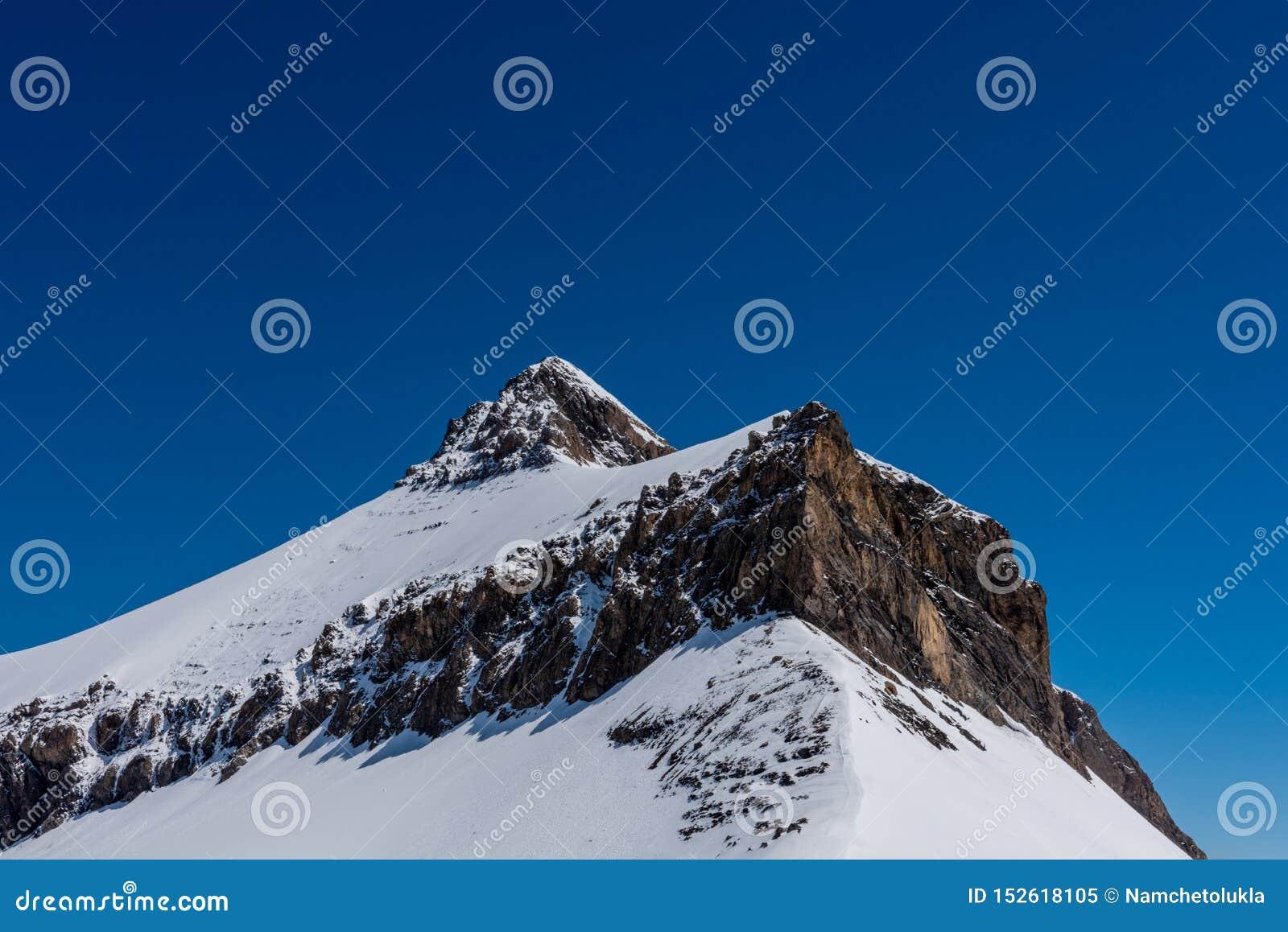 Βουνό Oldenhorn στην Ελβετία