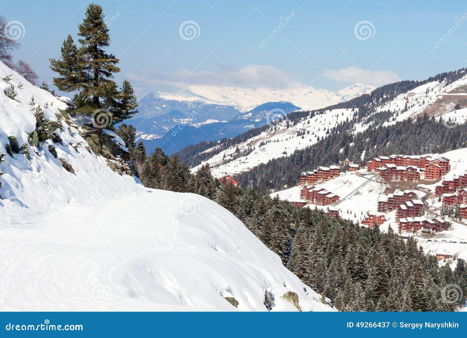 Βουνό skitracks