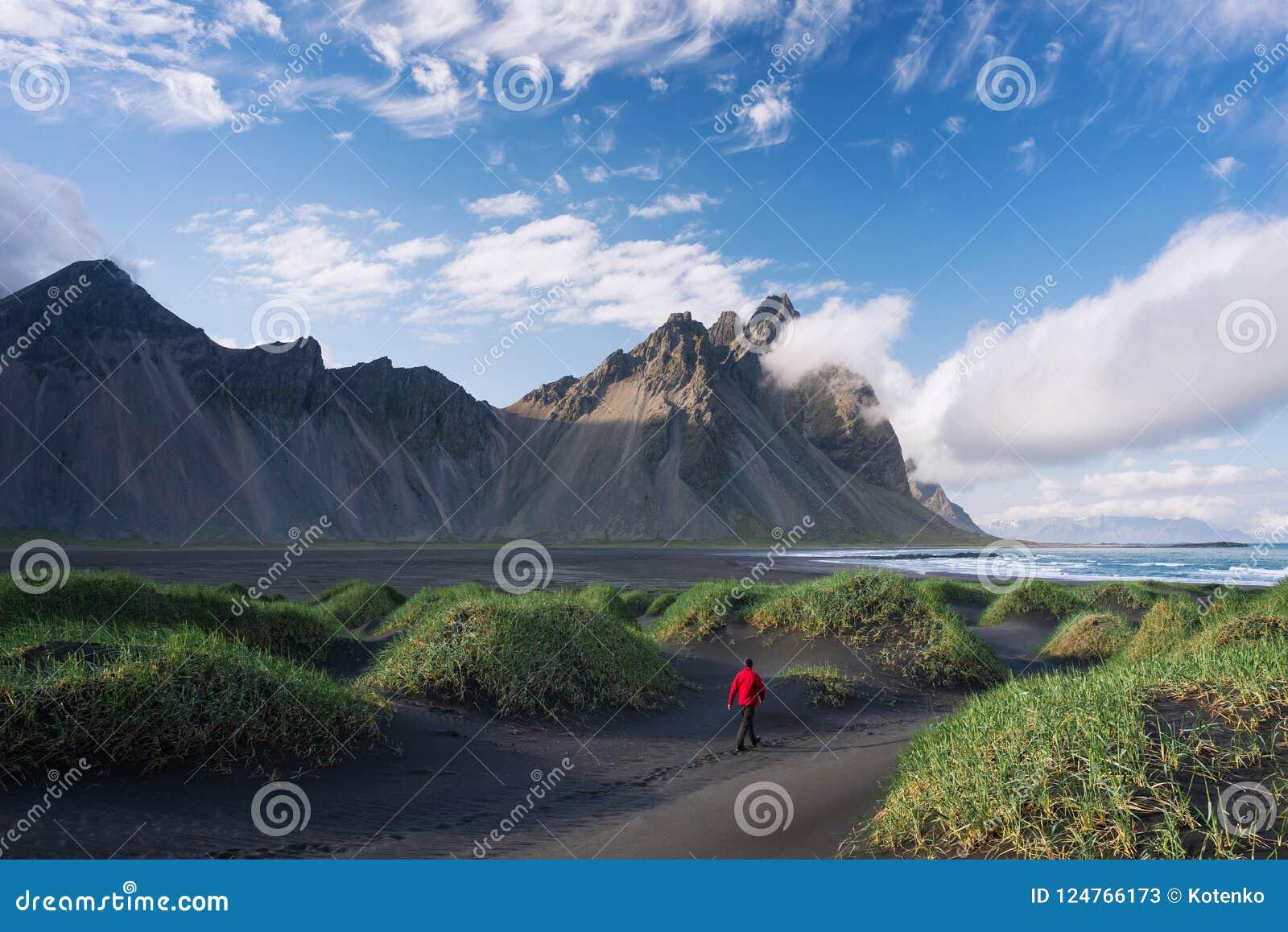 Βουνό Vestrahorn και Stokksnes, Ισλανδία