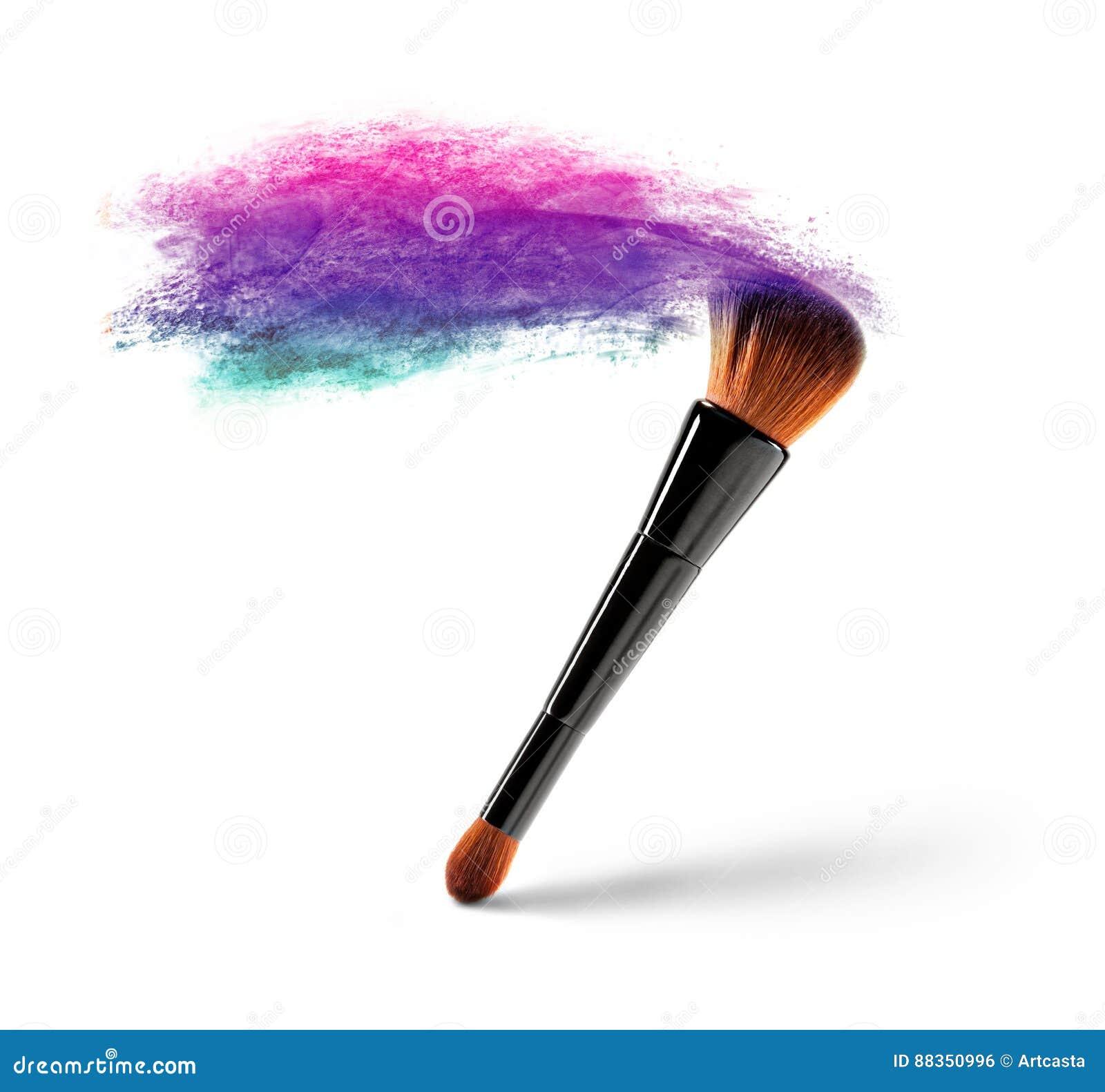 Βούρτσα Makeup με τη σκόνη χρώματος