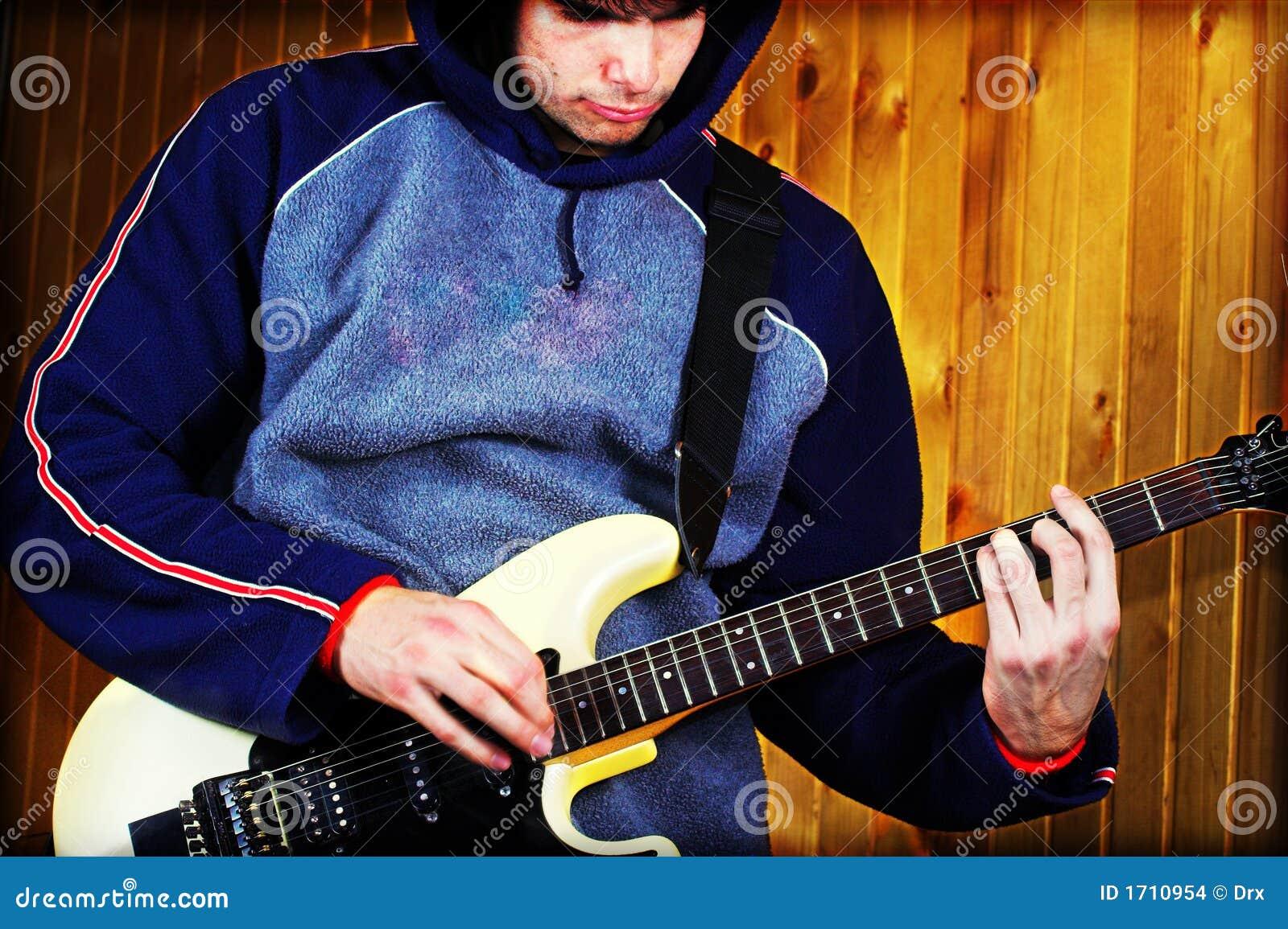 βράχος μουσικής κιθαριστών
