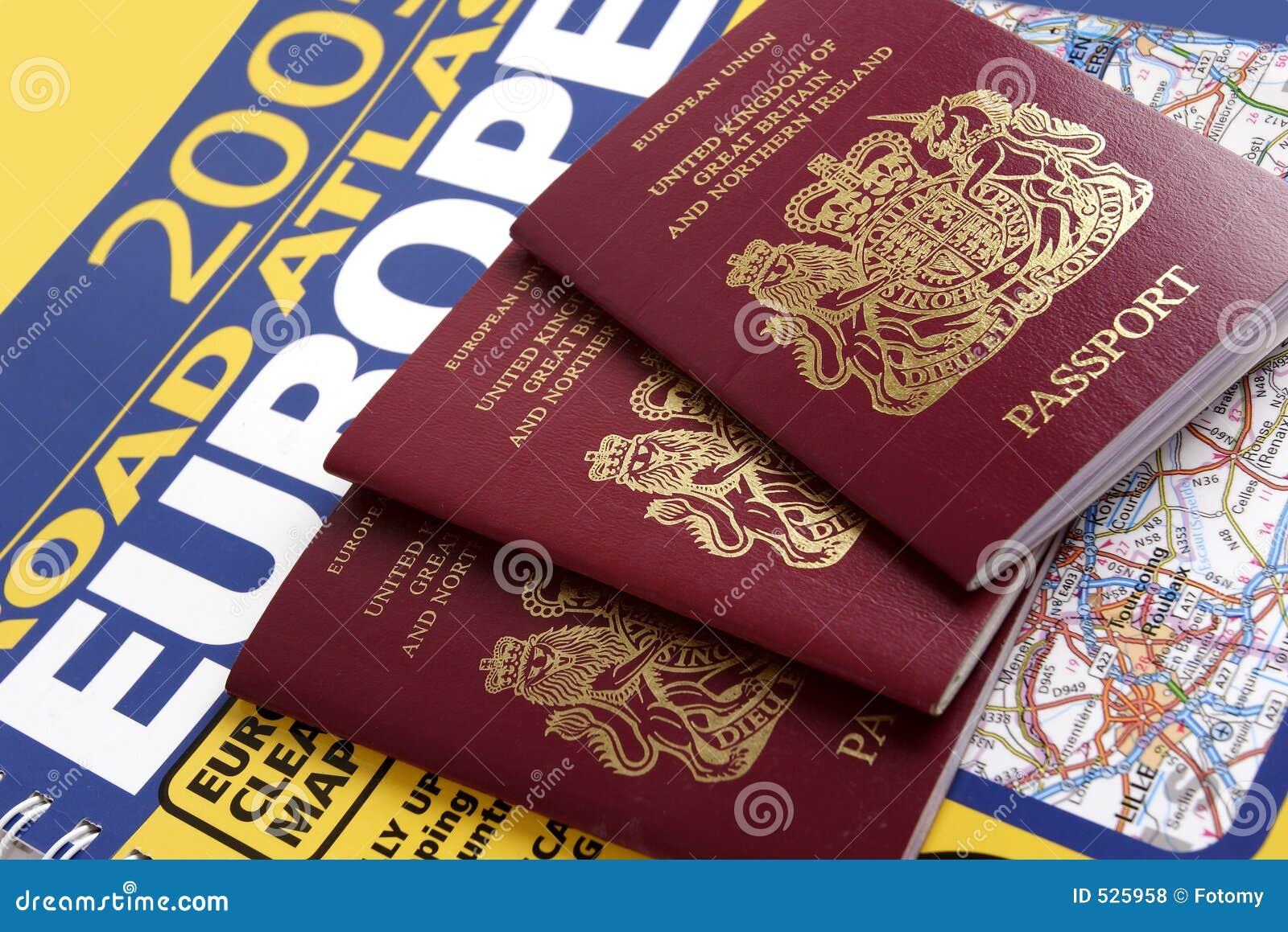 βρετανικό διαβατήριο