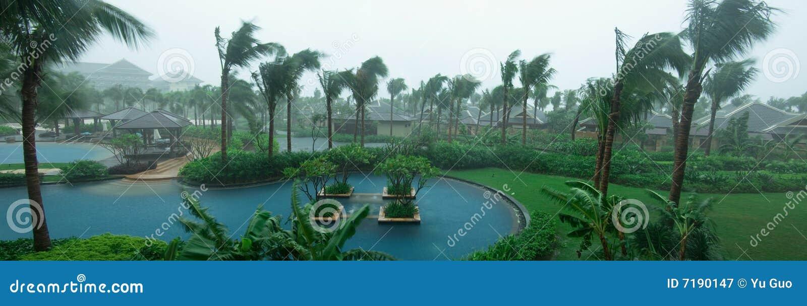 βροχή κήπων