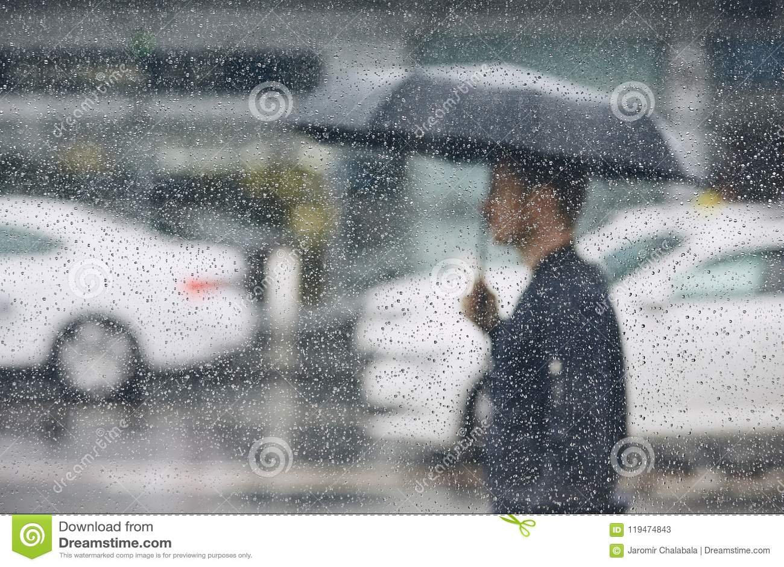 Βροχή στην πόλη