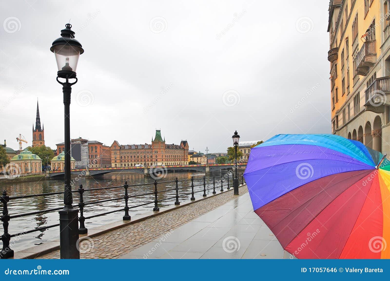 βροχή Στοκχόλμη