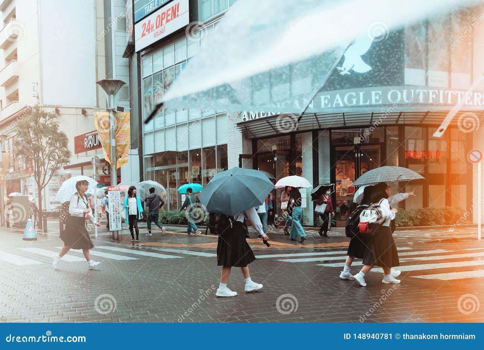 Βροχή στο Τόκιο