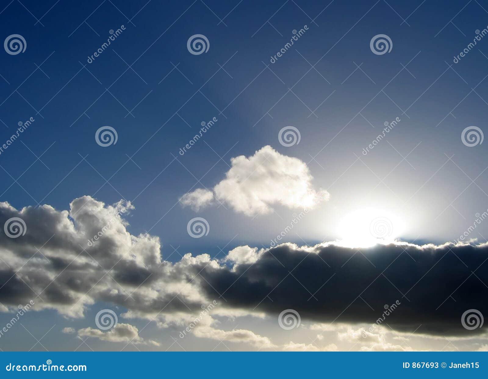 βροχή σύννεφων