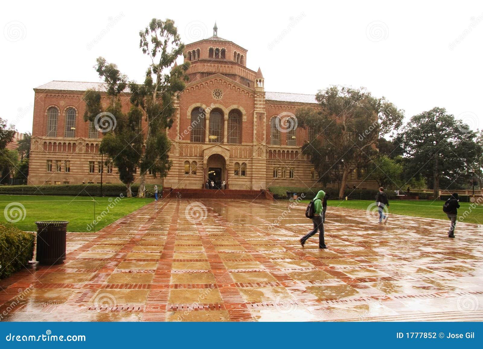 βροχερό πανεπιστήμιο ημέρας