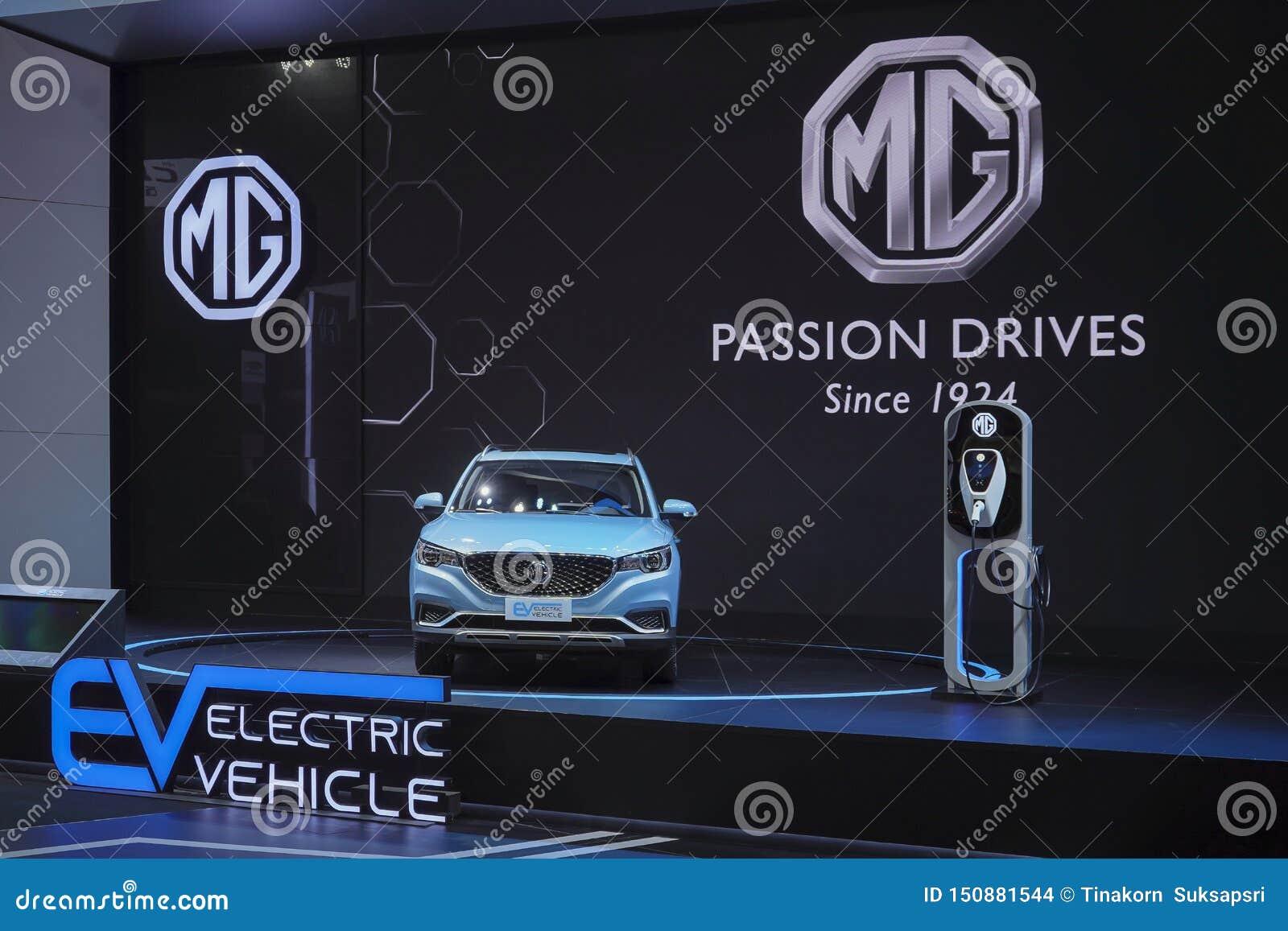 Βυσματωτή υβριδική ηλεκτρική τεχνολογία οχημάτων MG EV για το περιβάλλον στην επίδειξη στη διεθνή έκθεση αυτοκινήτου 2019 της 40η