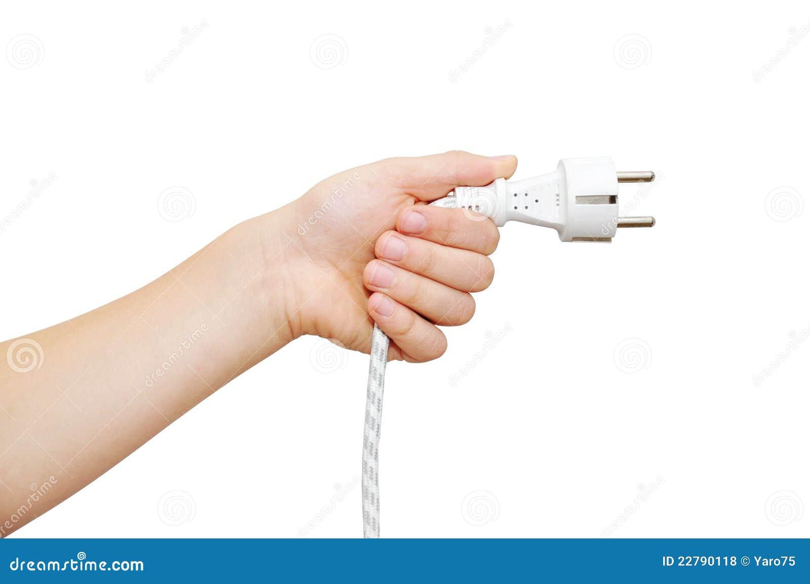 βύσμα εκμετάλλευσης χεριών ηλεκτρικής ενέργειας