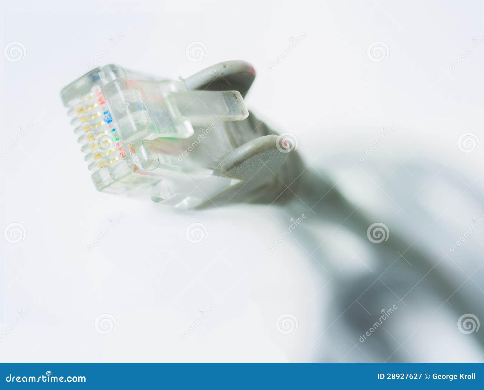 Βύσμα καλωδίων Διαδικτύου δικτύων