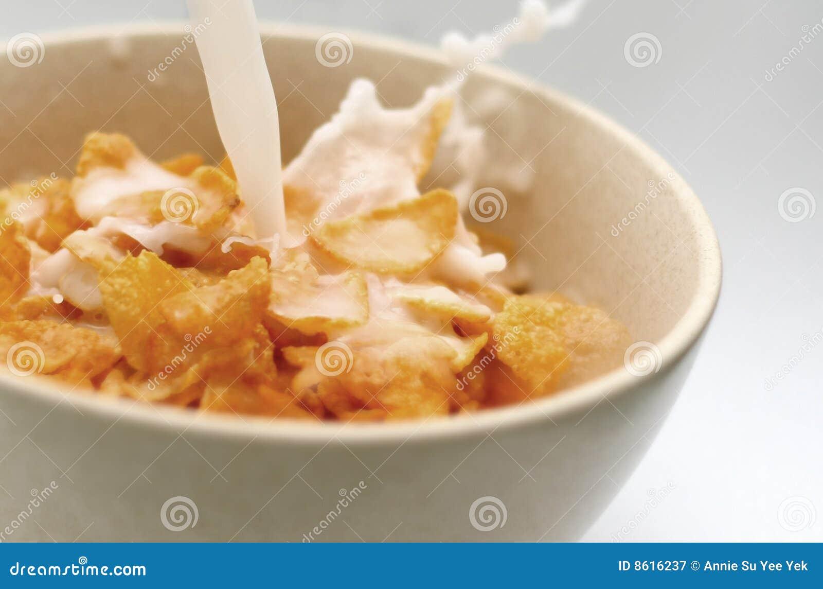 γάλα νιφάδων καλαμποκιού