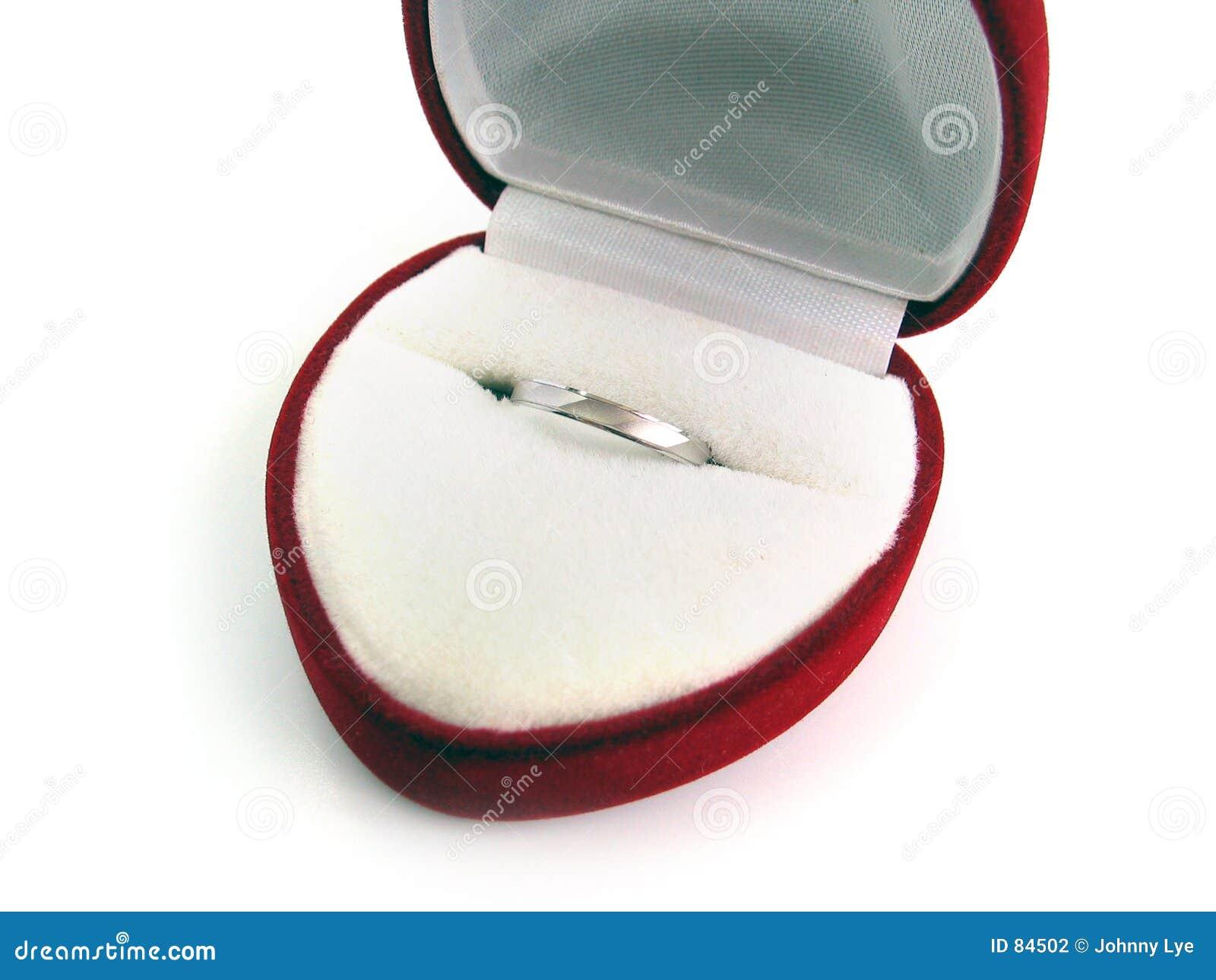 γάμος δαχτυλιδιών κιβωτί&o