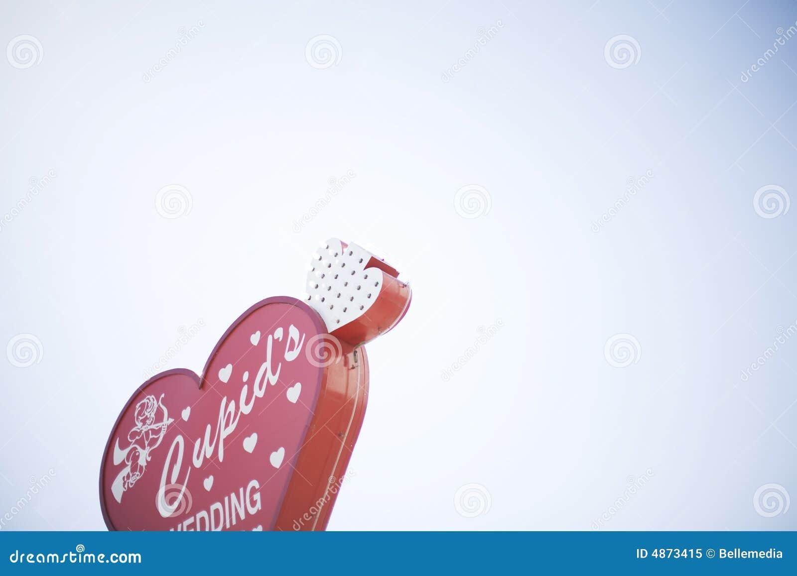 γάμος vegas σημαδιών