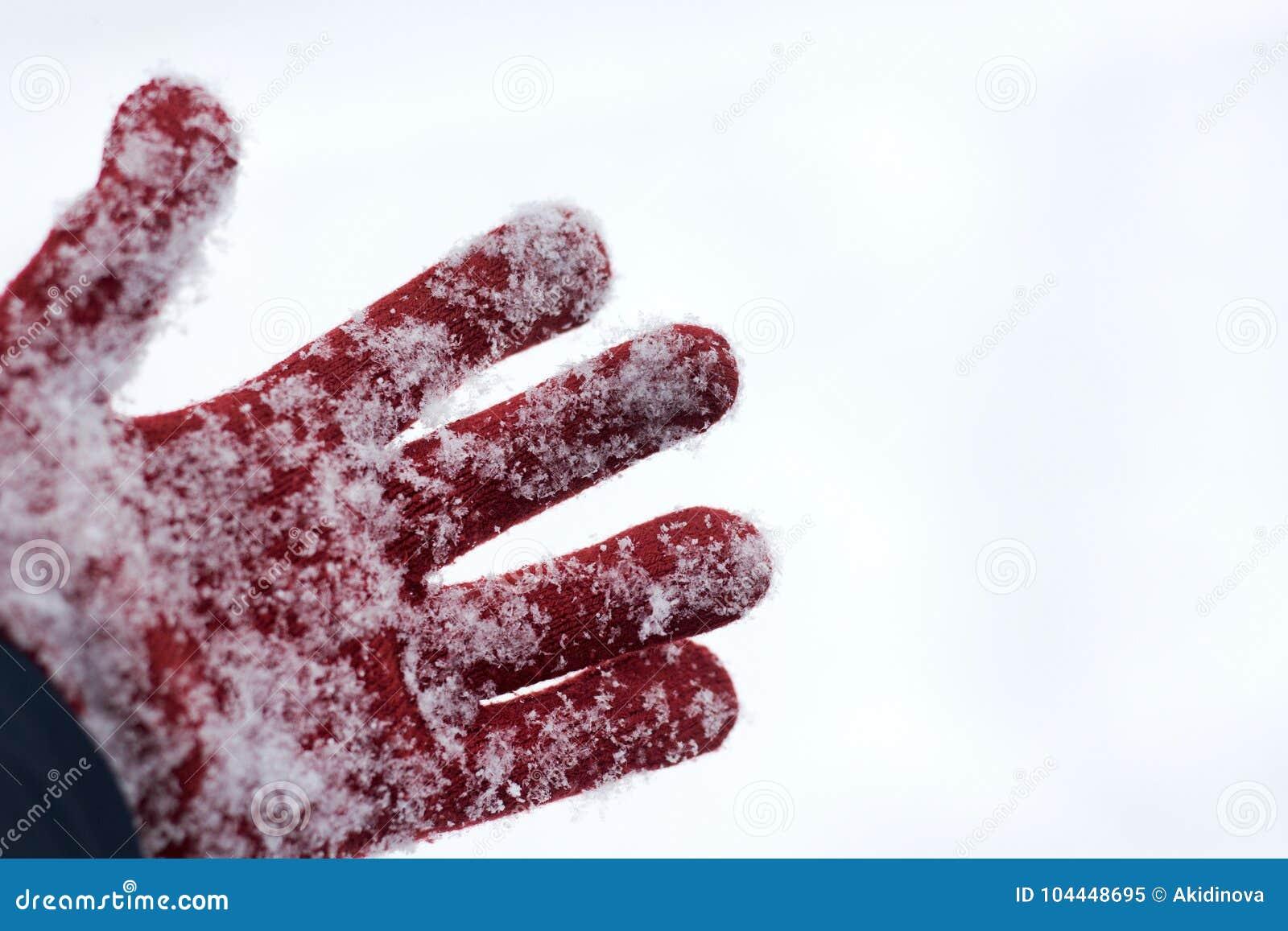 Γάντια στο χιόνι