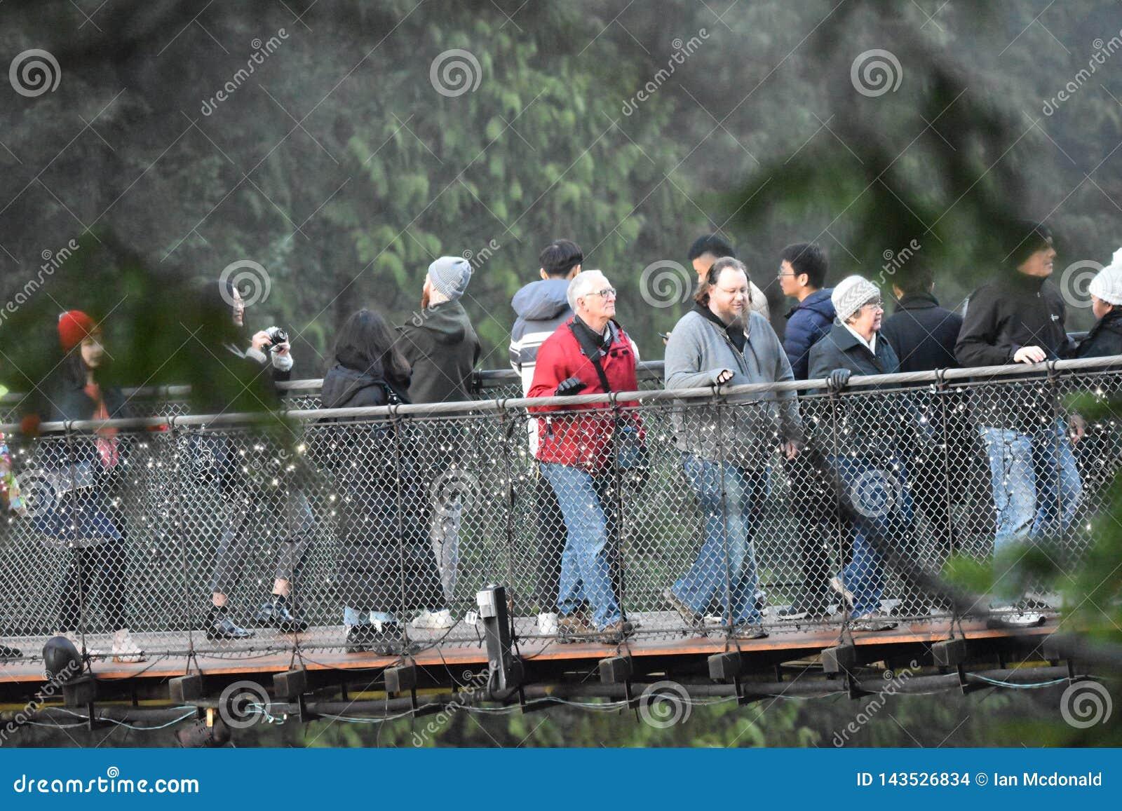 Γέφυρα αναστολής Capilano