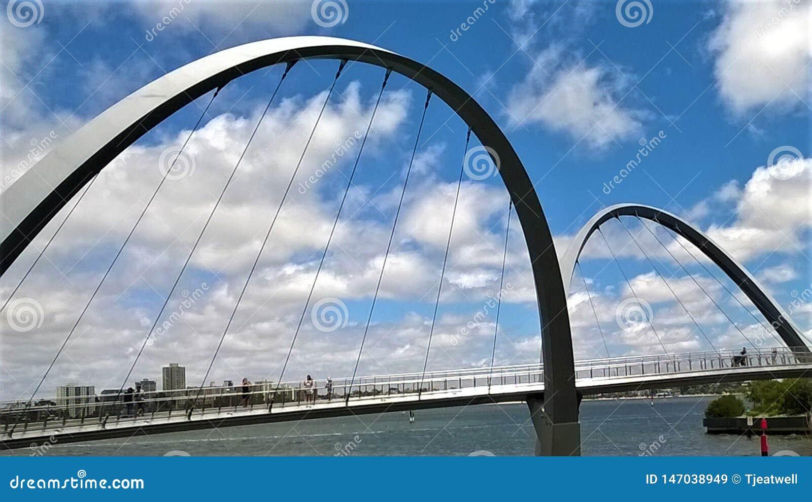 Γέφυρα αψίδων στη δυτική Αυστραλία