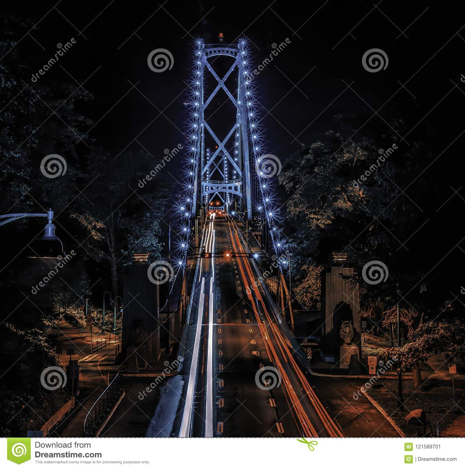 Γέφυρα Βανκούβερ πυλών λιονταριών