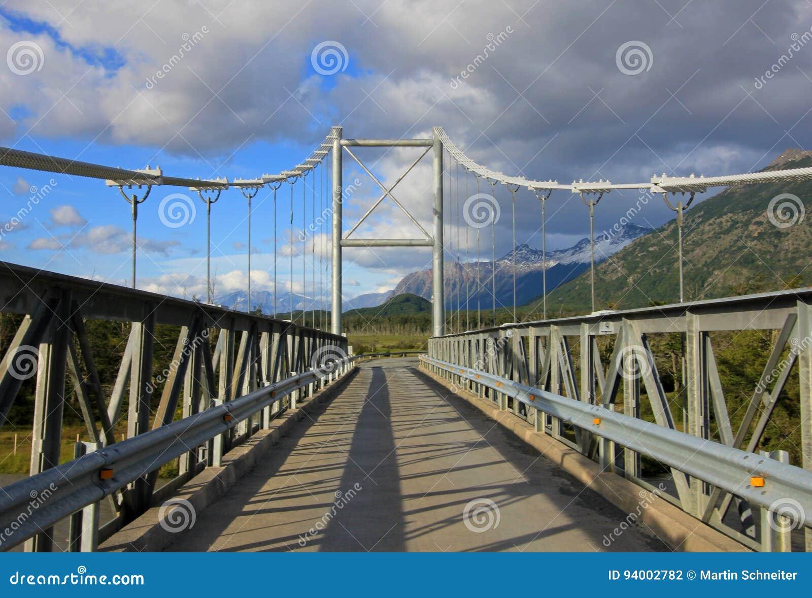 Γέφυρα στη βίλα Ο Higgins, Carretera νότιο, Χιλή