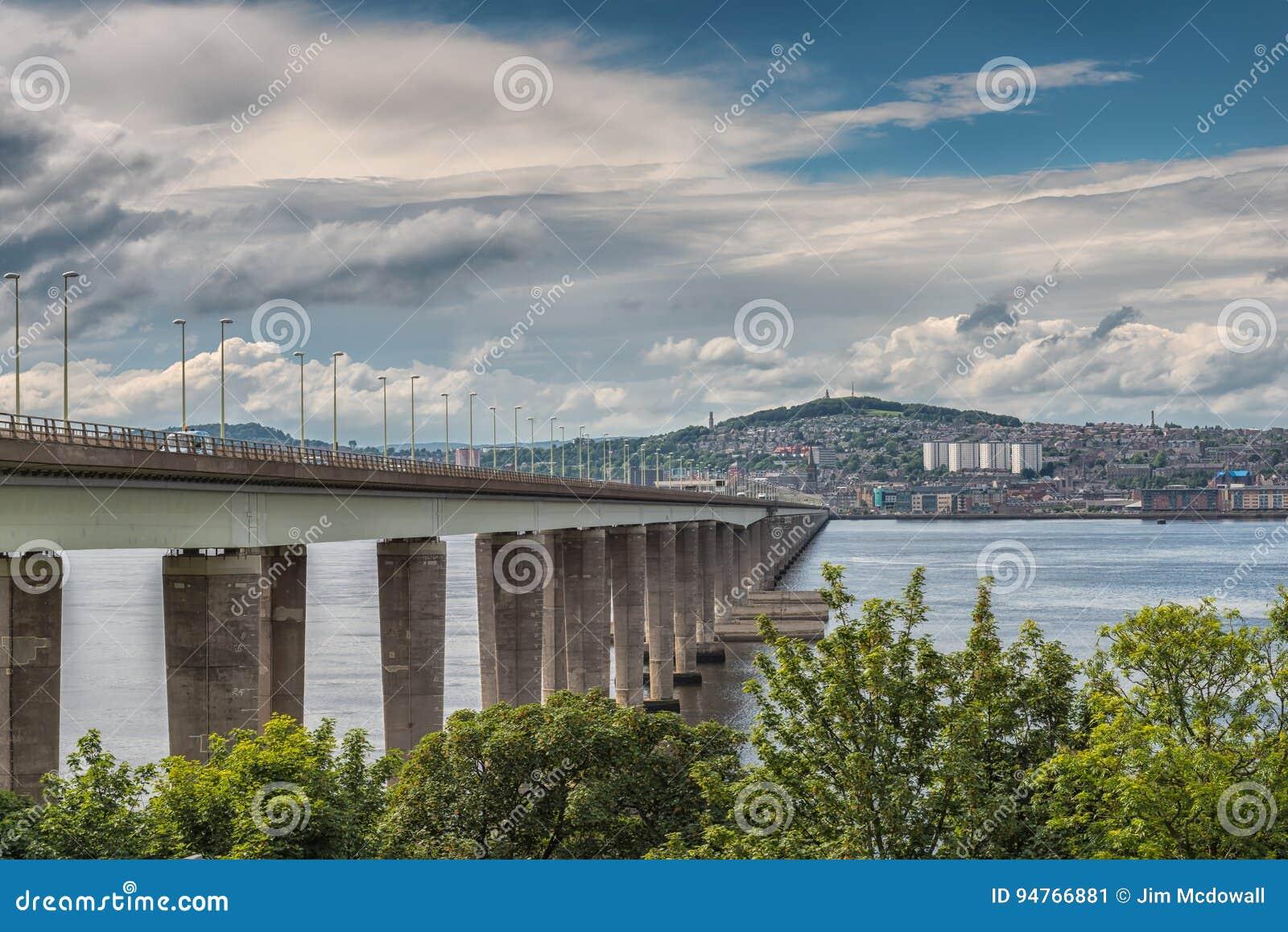 Γέφυρα Dundee Σκωτία Tay