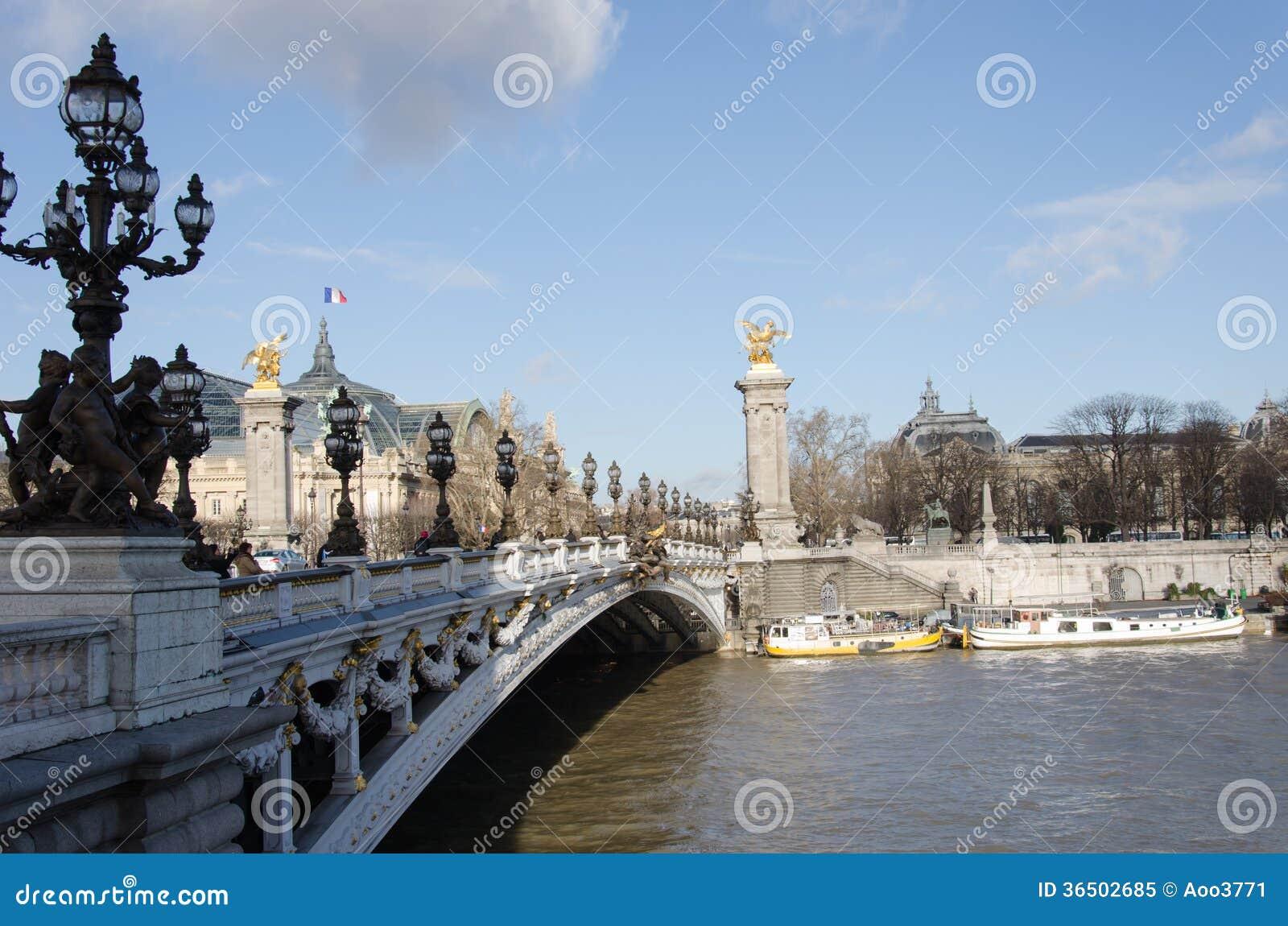 Γέφυρα pont Alexandre ΙΙΙ