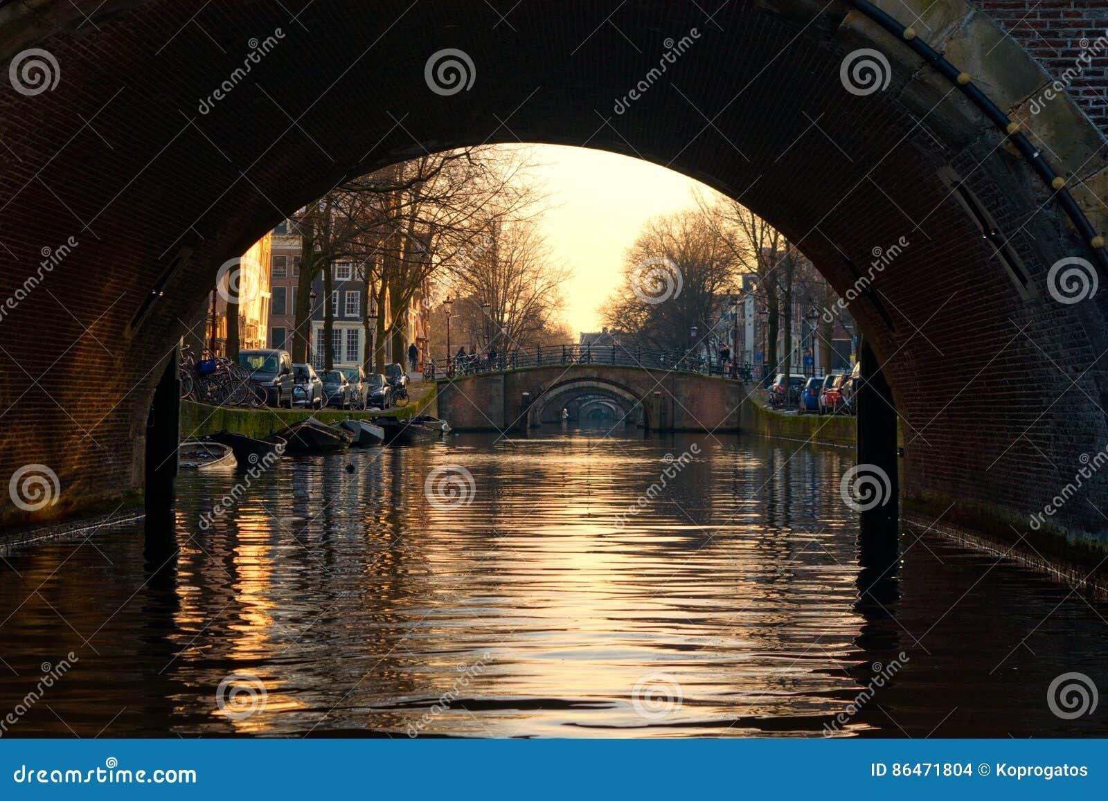 7 γέφυρες του Άμστερνταμ