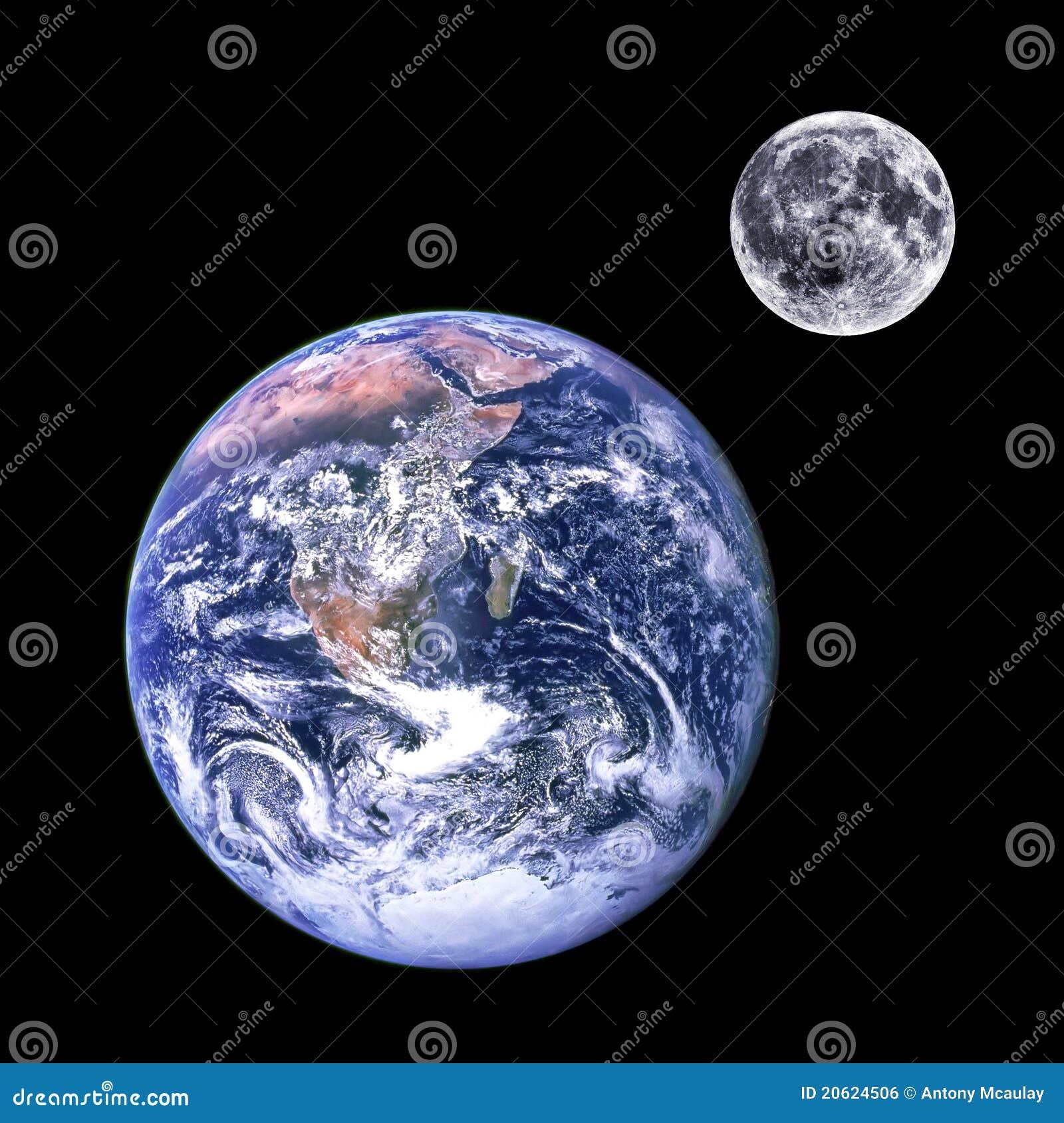 γήινο φεγγάρι