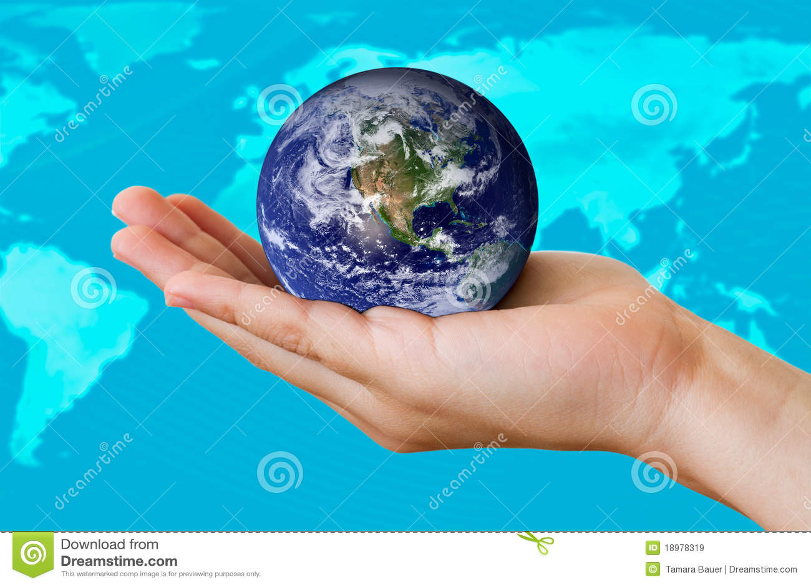 γήινο χέρι