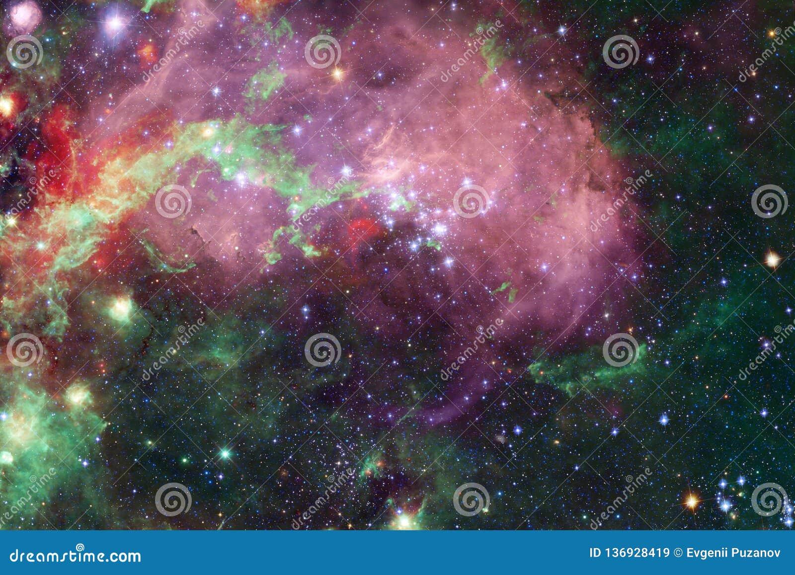Γαλαξίας κάπου στο μακρινό διάστημα Στοιχεία αυτής της εικόνας που εφοδιάζεται από τη NASA