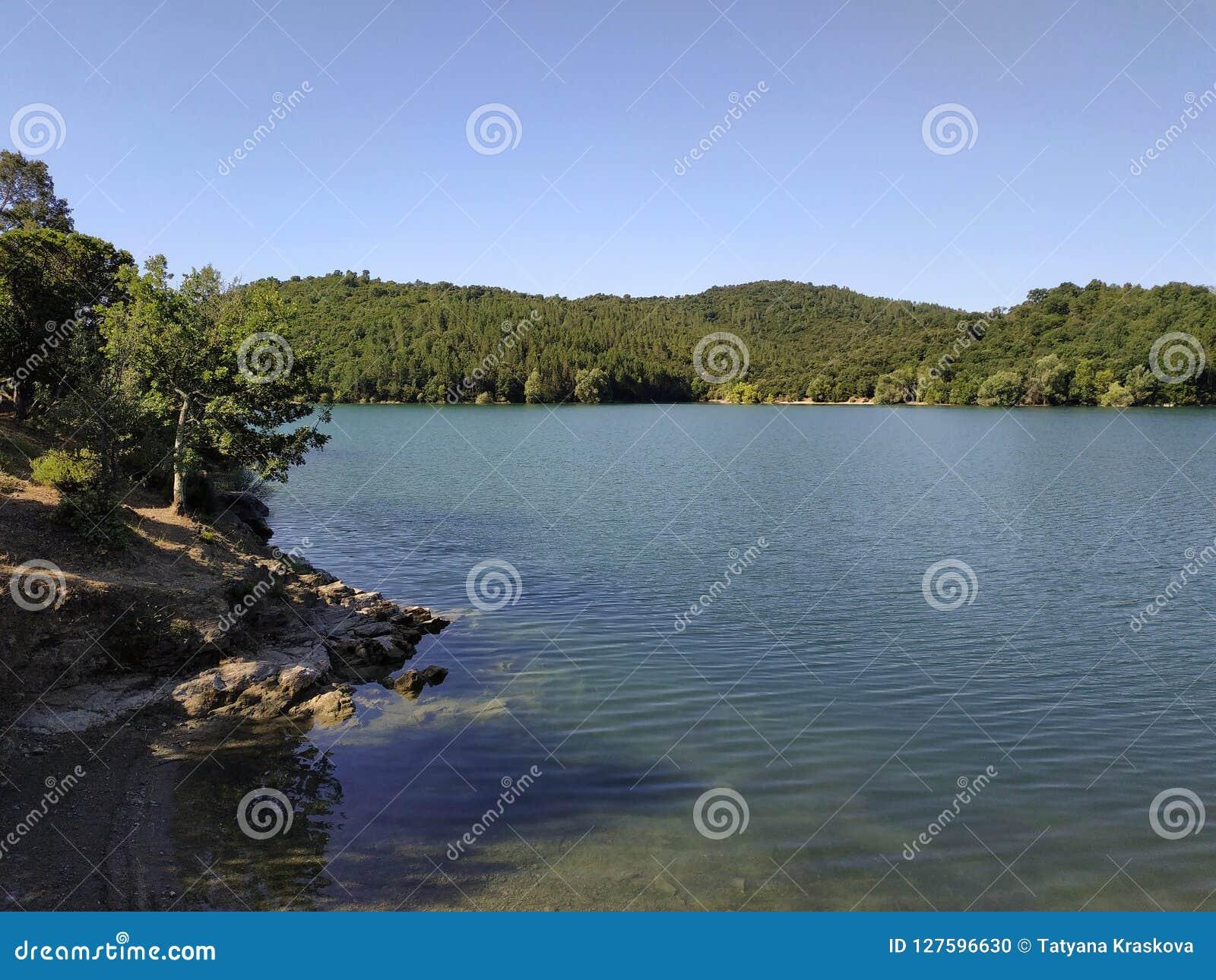 Γαλλία - λίμνη ST Cassien