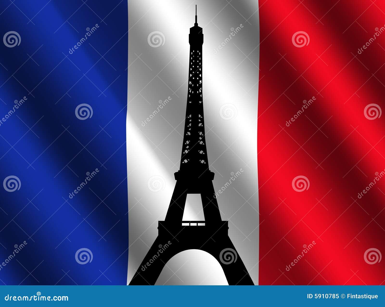 γαλλικός πύργος σημαιών του Άιφελ