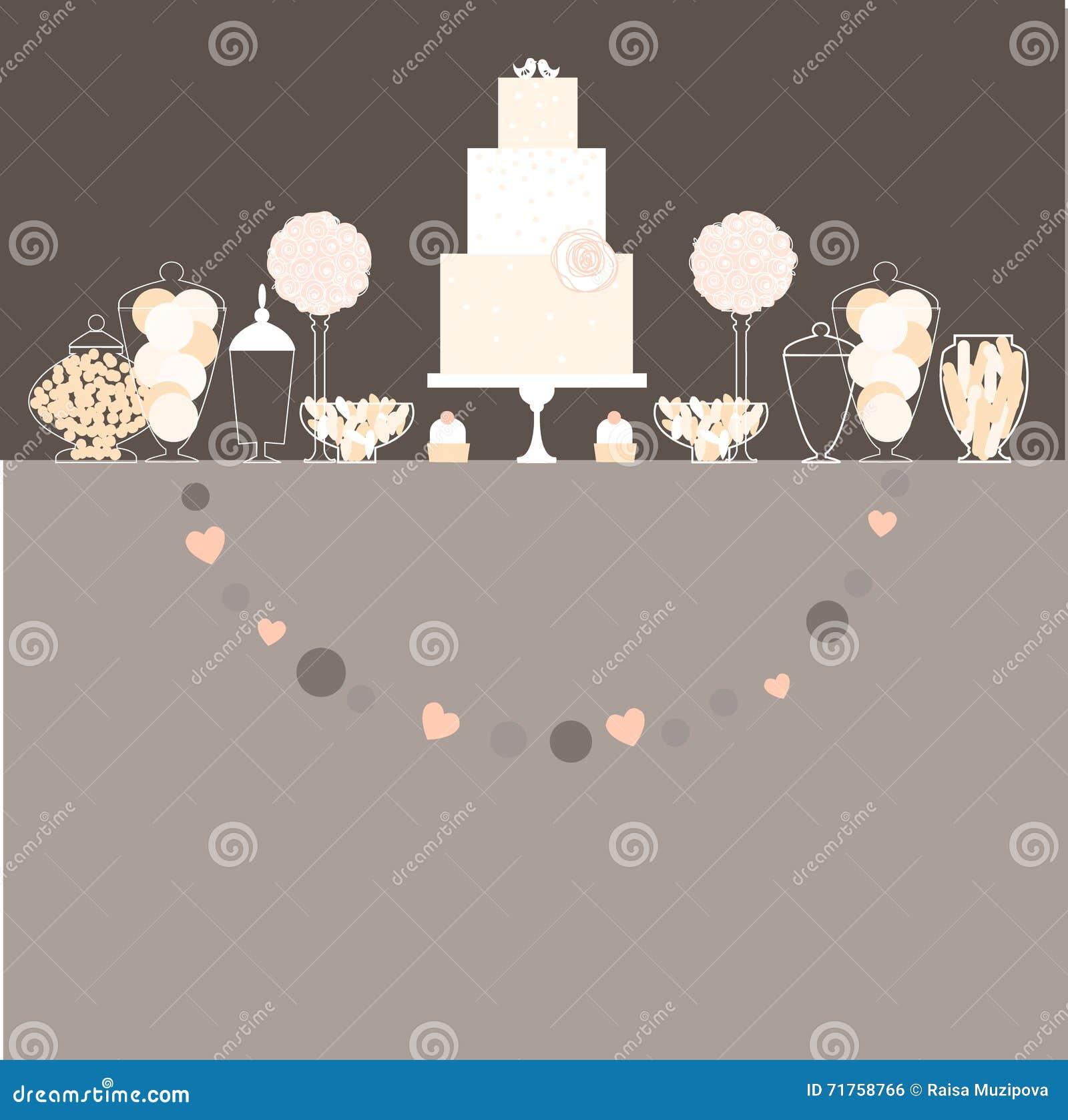 Γαμήλιος γλυκός πίνακας